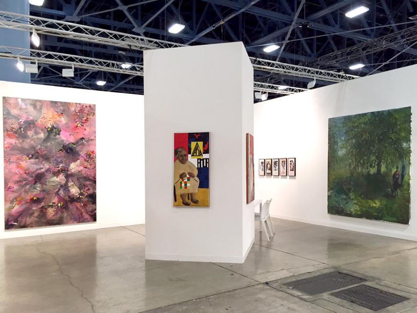 Galerie Barbara Thumm \ Art Basel Miami Beach \ 01.12. – 06.12.2015 \ Estate Teresa Burga, Valérie Favre, Anne-Mie Van Kerckhoven, Estate Anna Oppermann, Cantemir Hausì