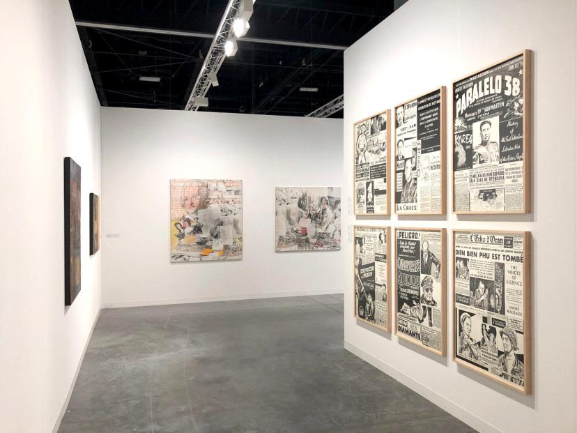 Galerie Barbara Thumm \ Art Basel Miami Beach \ 06.12. – 09.12.2018 \ Fiona Banner aka The Vanity Press, Fernando Bryce, Diango Hernández, Estate Anna Oppermann
