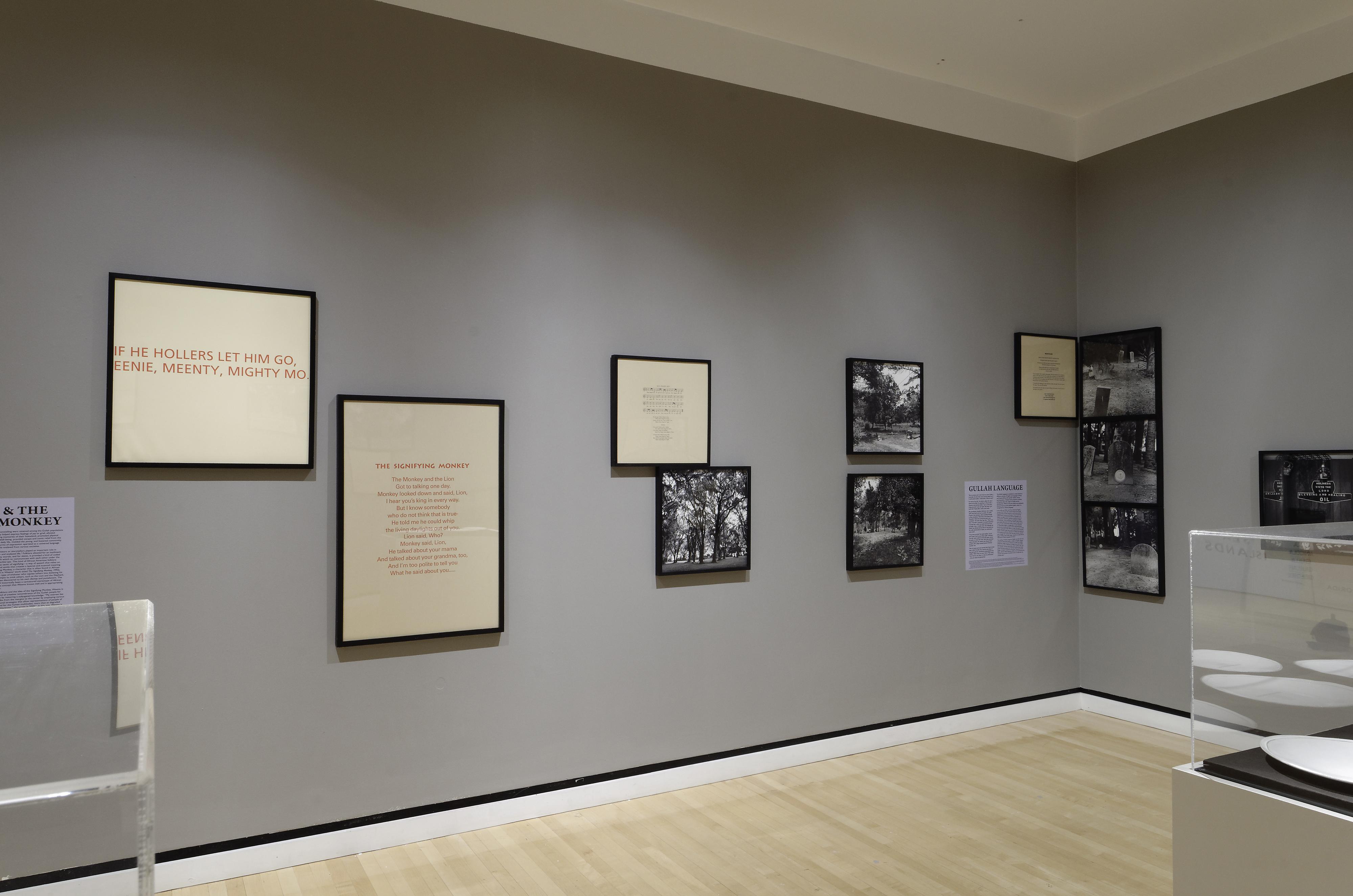 Galerie Barbara Thumm \ Carrie Mae Weems – Sea Islands Series, 1991–1992