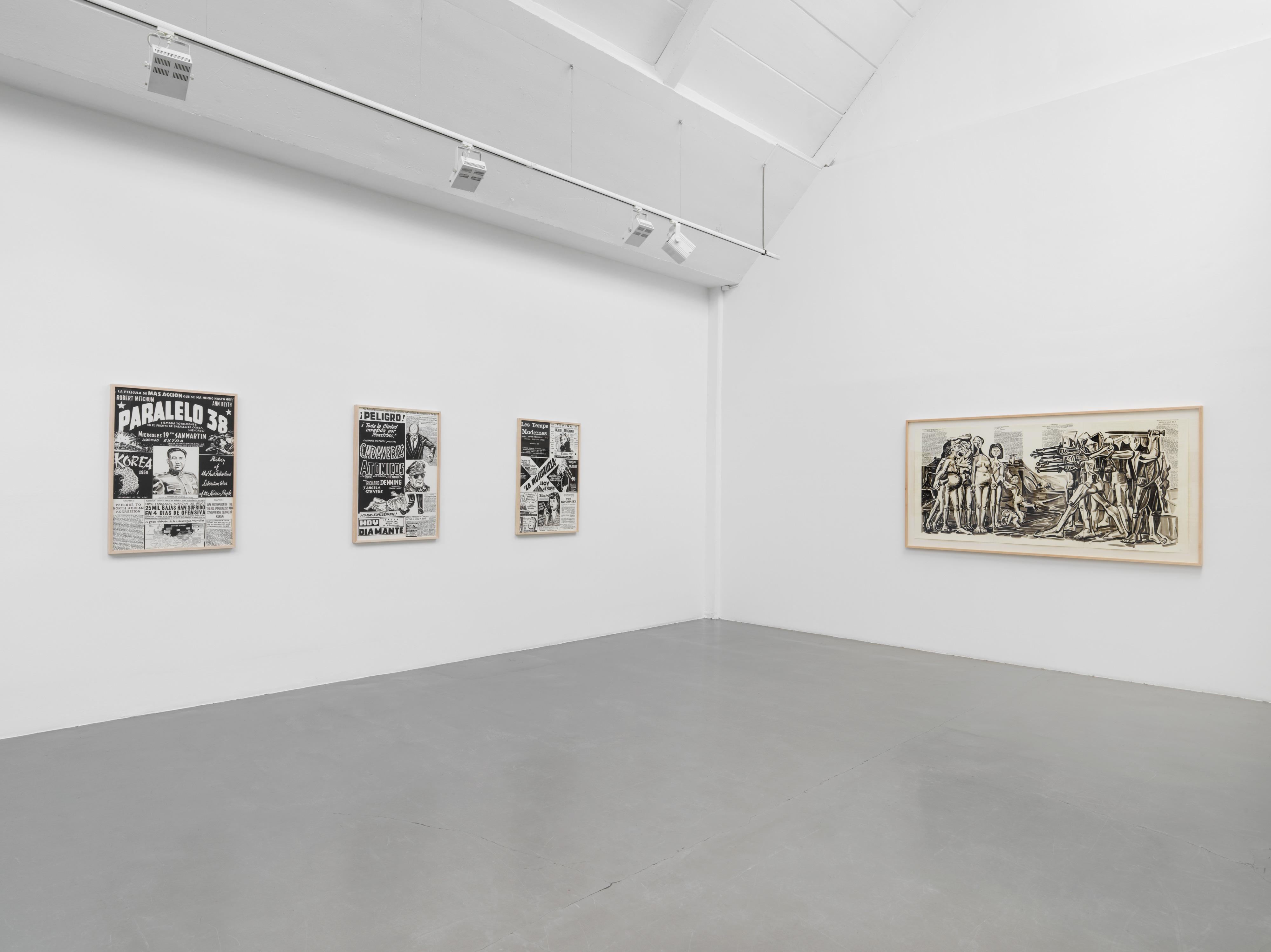 Galerie Barbara Thumm \ Fernando Bryce – Freedom First