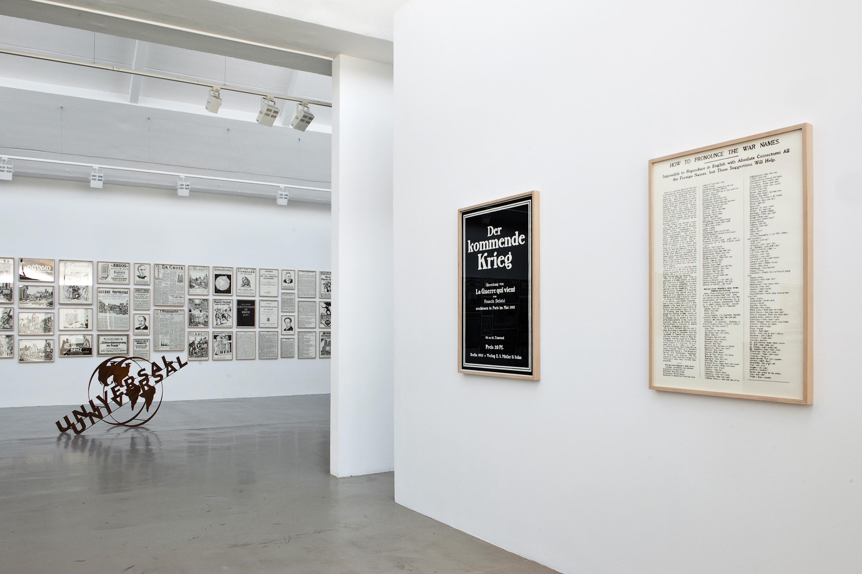 Galerie Barbara Thumm \ Fernando Bryce – To The Civilized World