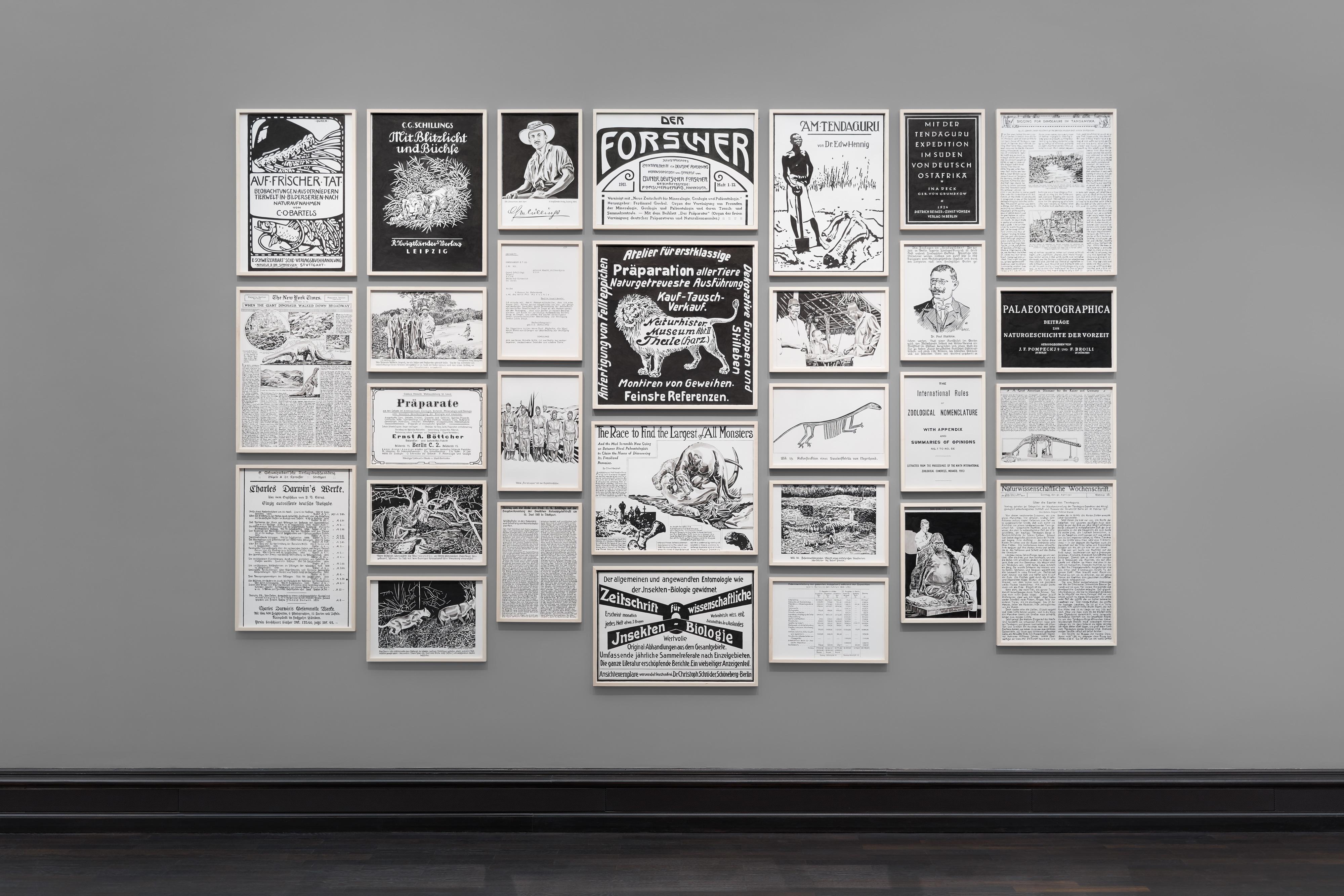 Galerie Barbara Thumm \ Fernando Bryce – Unvergessenes Land