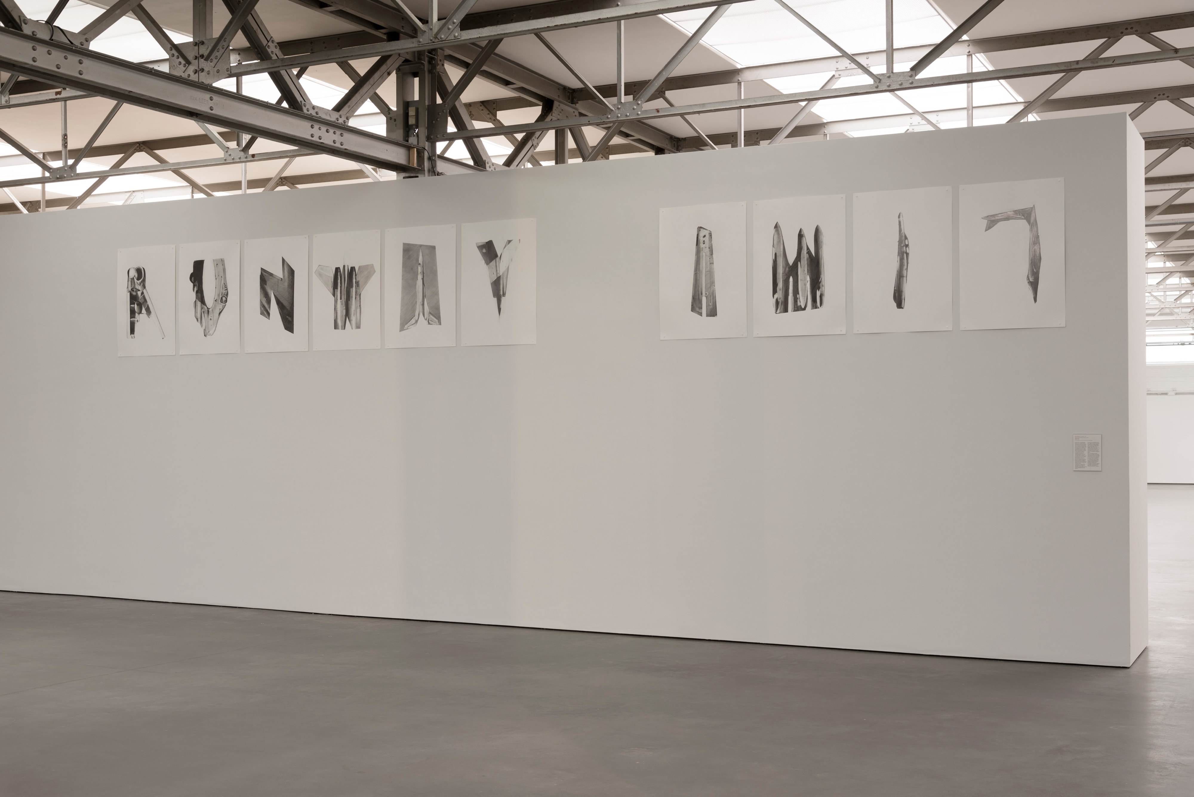 Galerie Barbara Thumm \ Fiona Banner aka The Vanity Press – Runway (AW17)