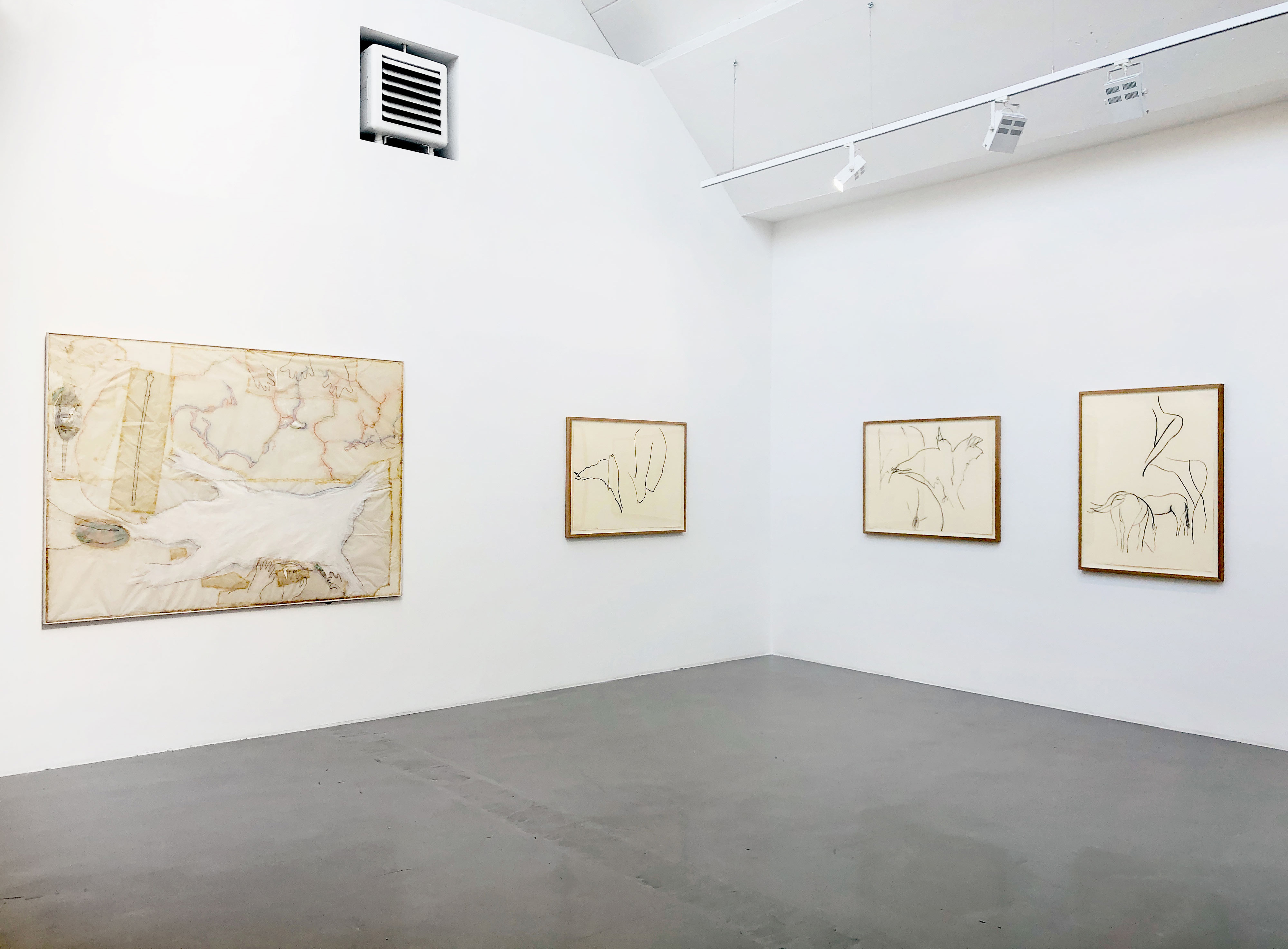 Galerie Barbara Thumm \ Jo Baer – Works on paper 1962–2018