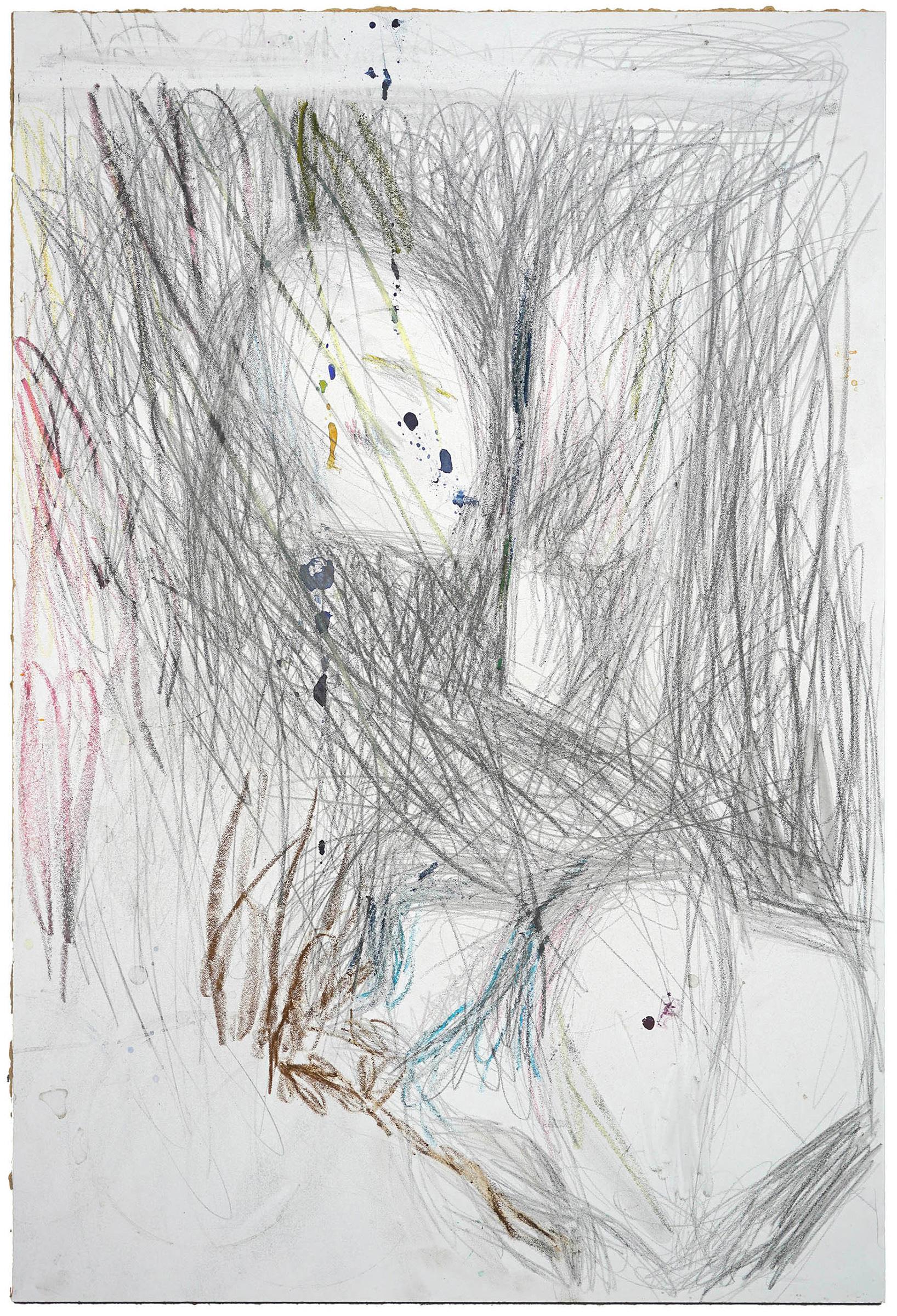 Galerie Barbara Thumm \ Martin Dammann – H Zeichnung 2d (MDa-20-018) \ H Drawing 2d (2020)