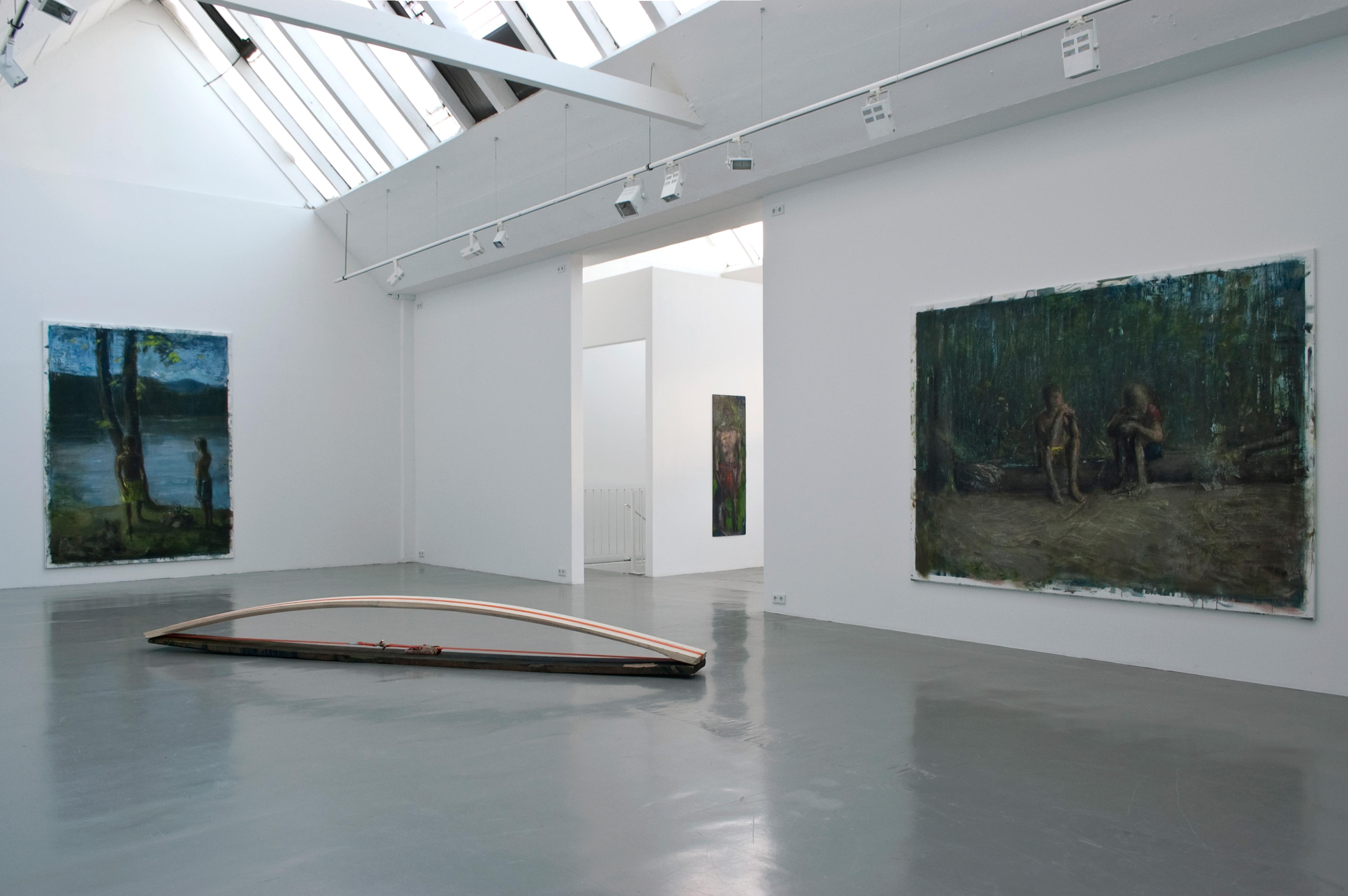 Galerie Barbara Thumm \ Simon Cantemir Hausi – Die Flötenjungs
