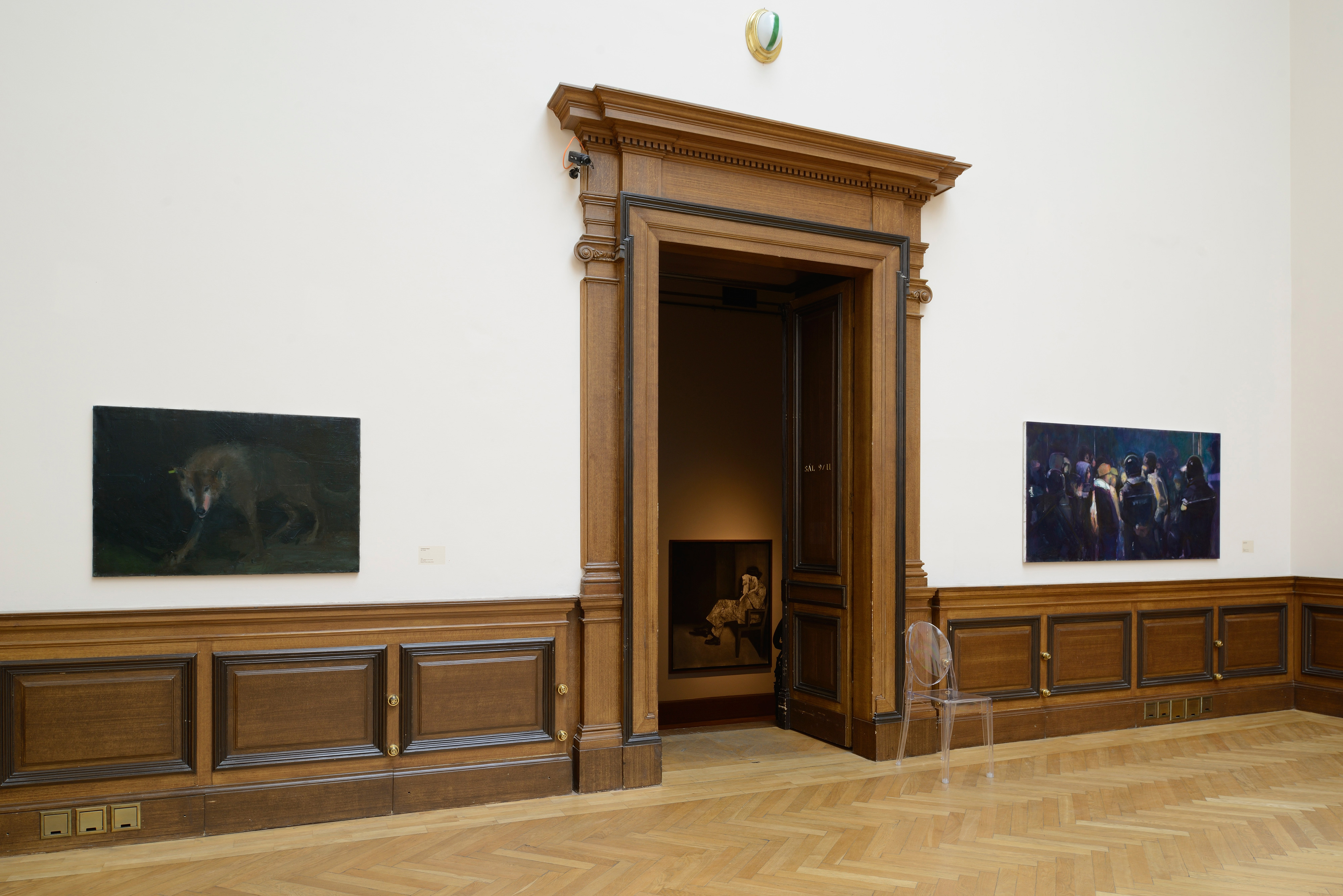 Galerie Barbara Thumm \ Simon Cantemir Hausi – Nightfall. New Tendencies in figurative painting