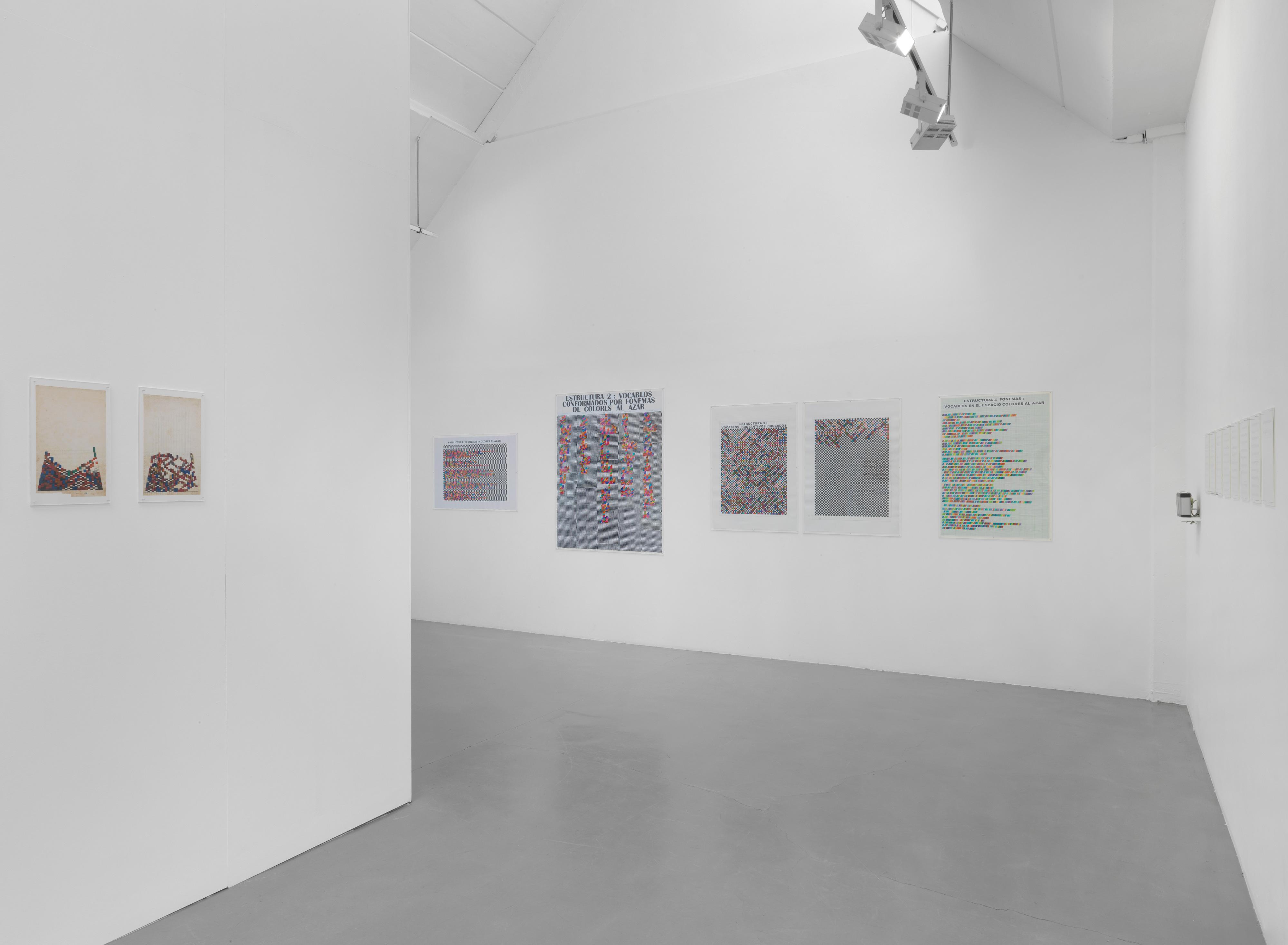 Galerie Barbara Thumm \ Teresa Burga – Conceptual Installations of the Seventies