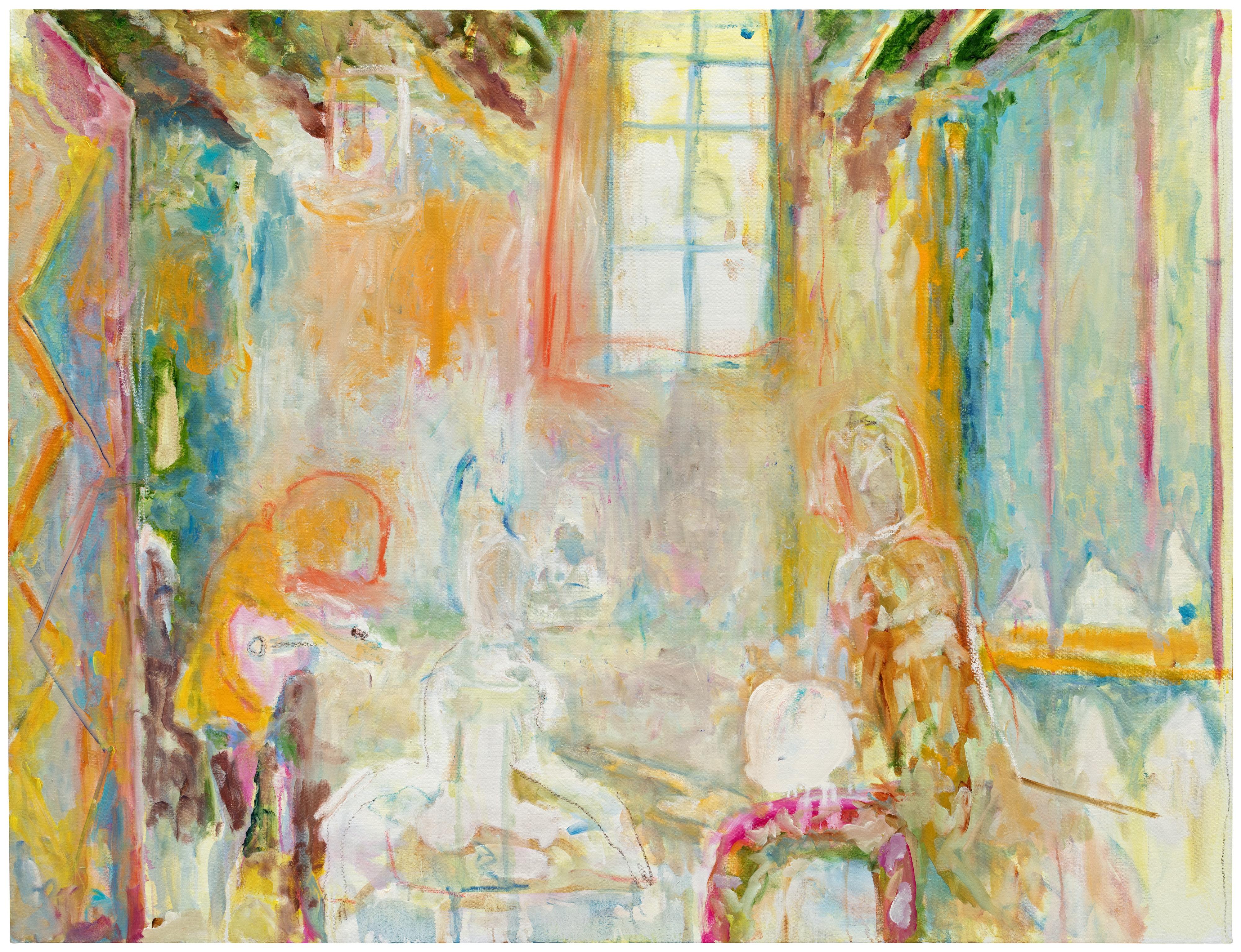 Galerie Barbara Thumm \ Valérie Favre: Am Tisch (VFa-18-009) \ Am Tisch (2018)