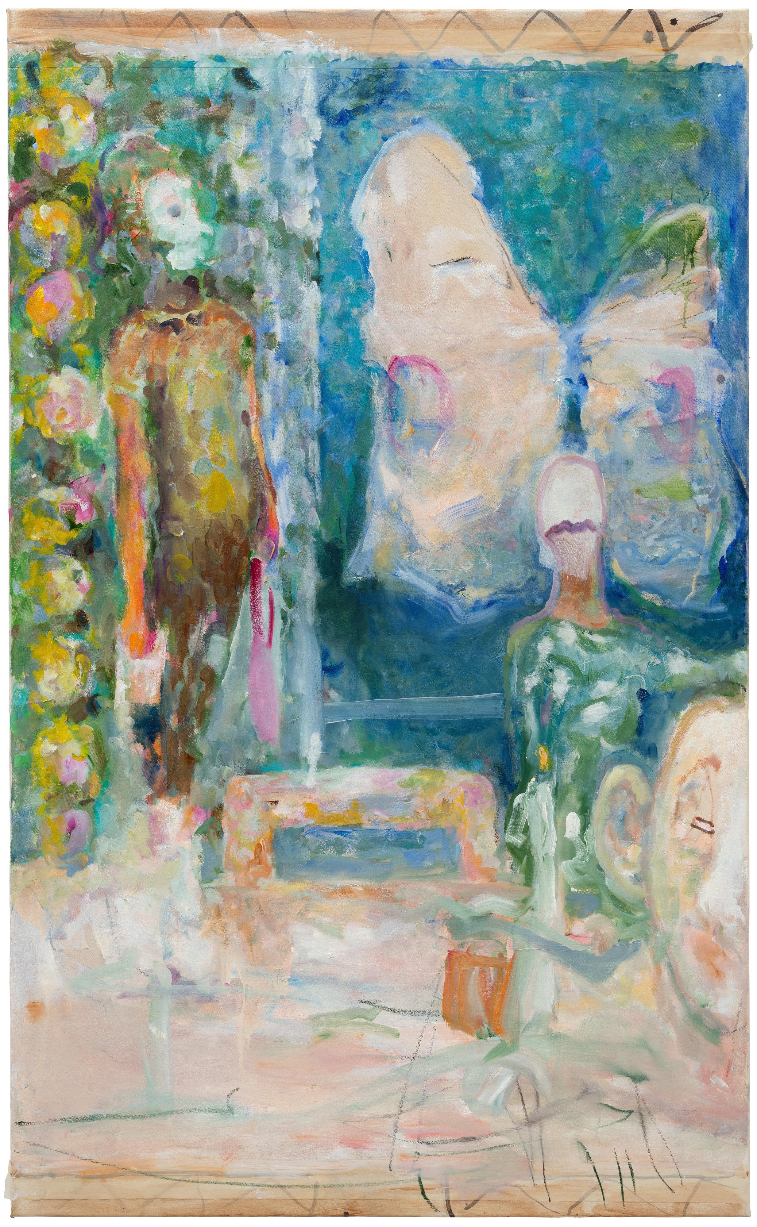 Galerie Barbara Thumm \ Valérie Favre: Am Tisch (VFa-18-013) \ Am Tisch (2018)
