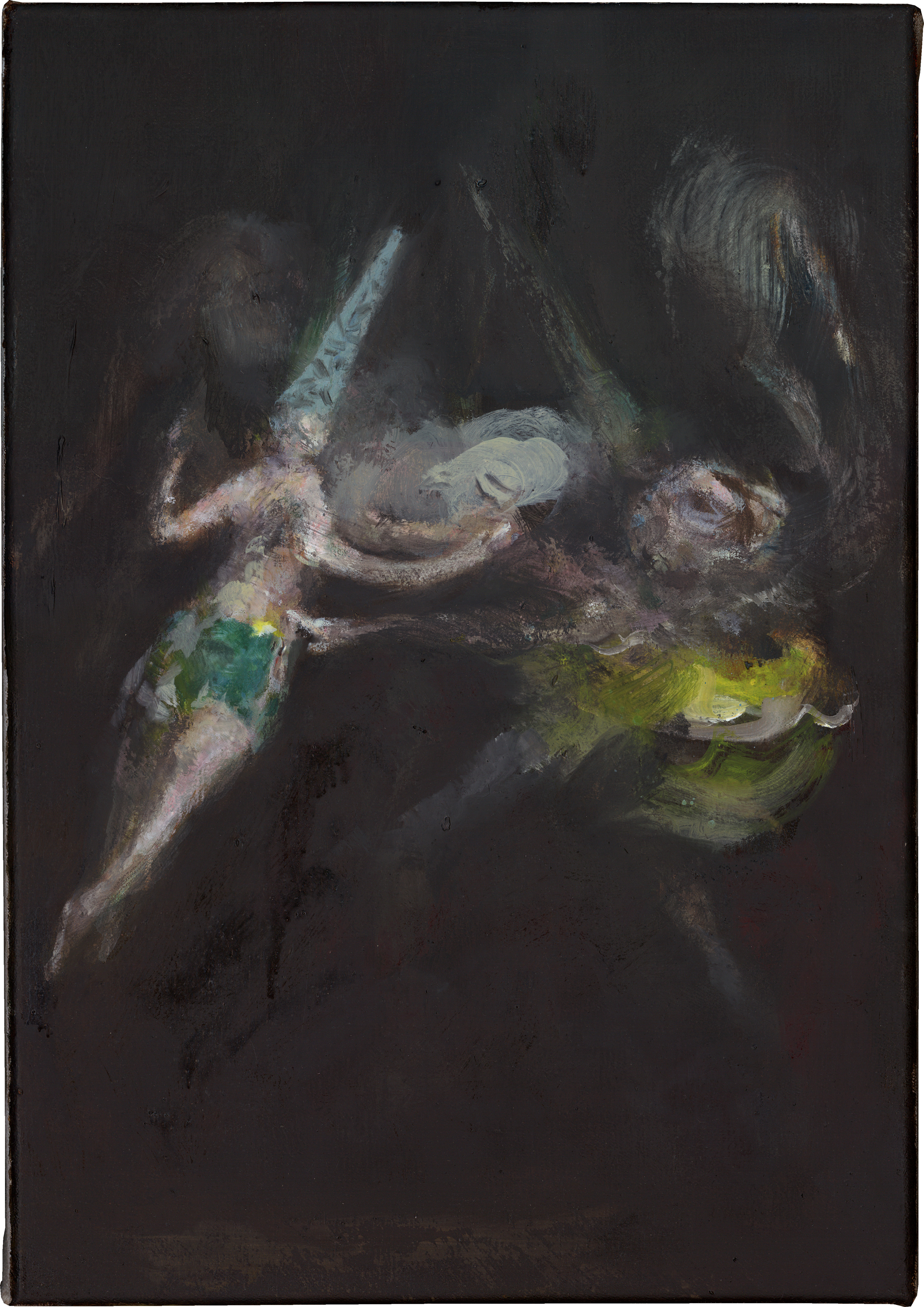 Galerie Barbara Thumm \ Valérie Favre: Ghost (nach Goyas Flug der Hexen) (VFa-14-009) \ Ghost (nach Goyas Flug der Hexen) (2014 – 2016)