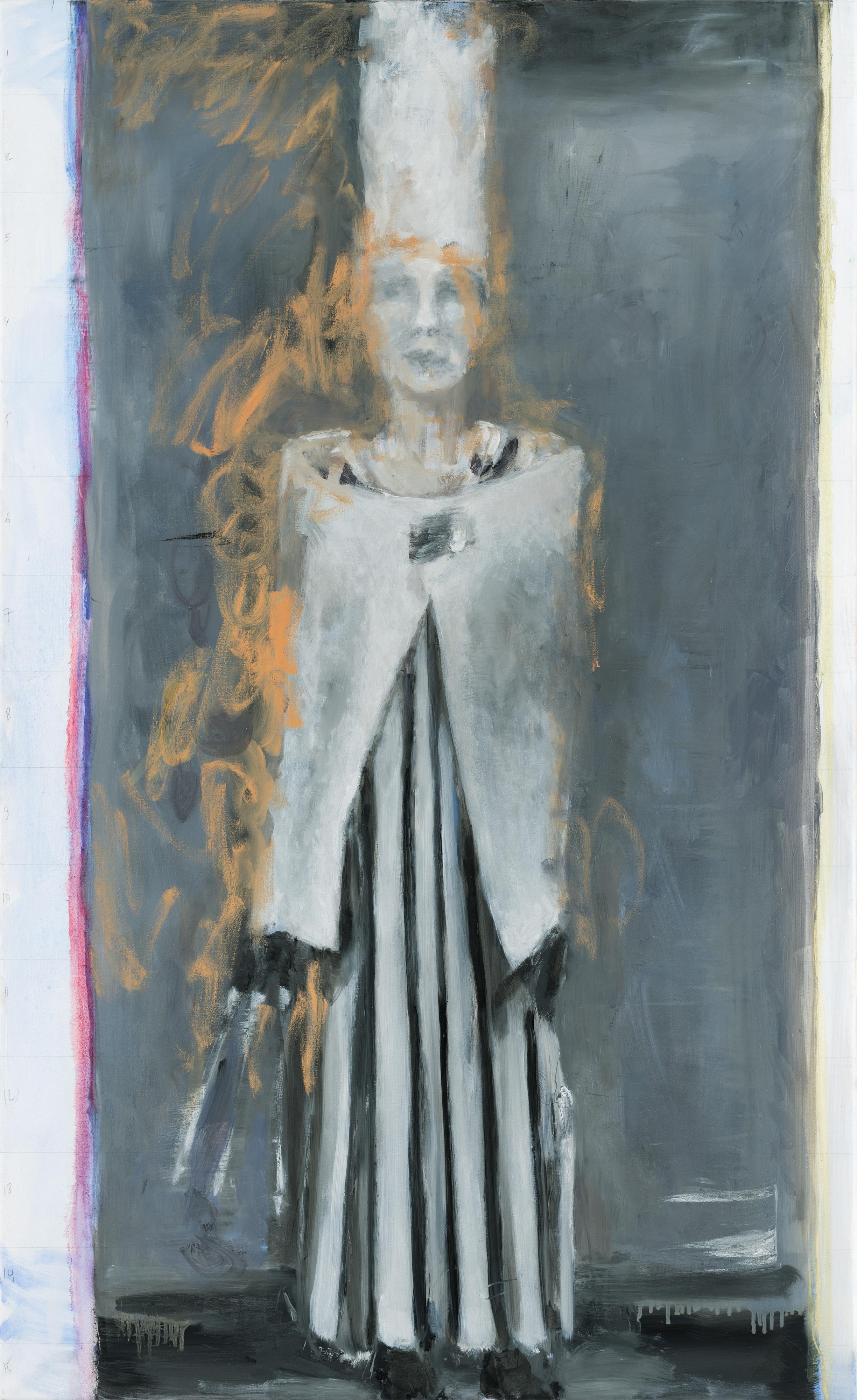 Galerie Barbara Thumm \ Valérie Favre: Redescription Selbst-Portrait (nach Hugo Ball, Dada Poète) N°5 (VFa-16-002) \ Redescription Selbst-Portrait (nach Hugo Ball, Dada Poète) N°5 (2016)