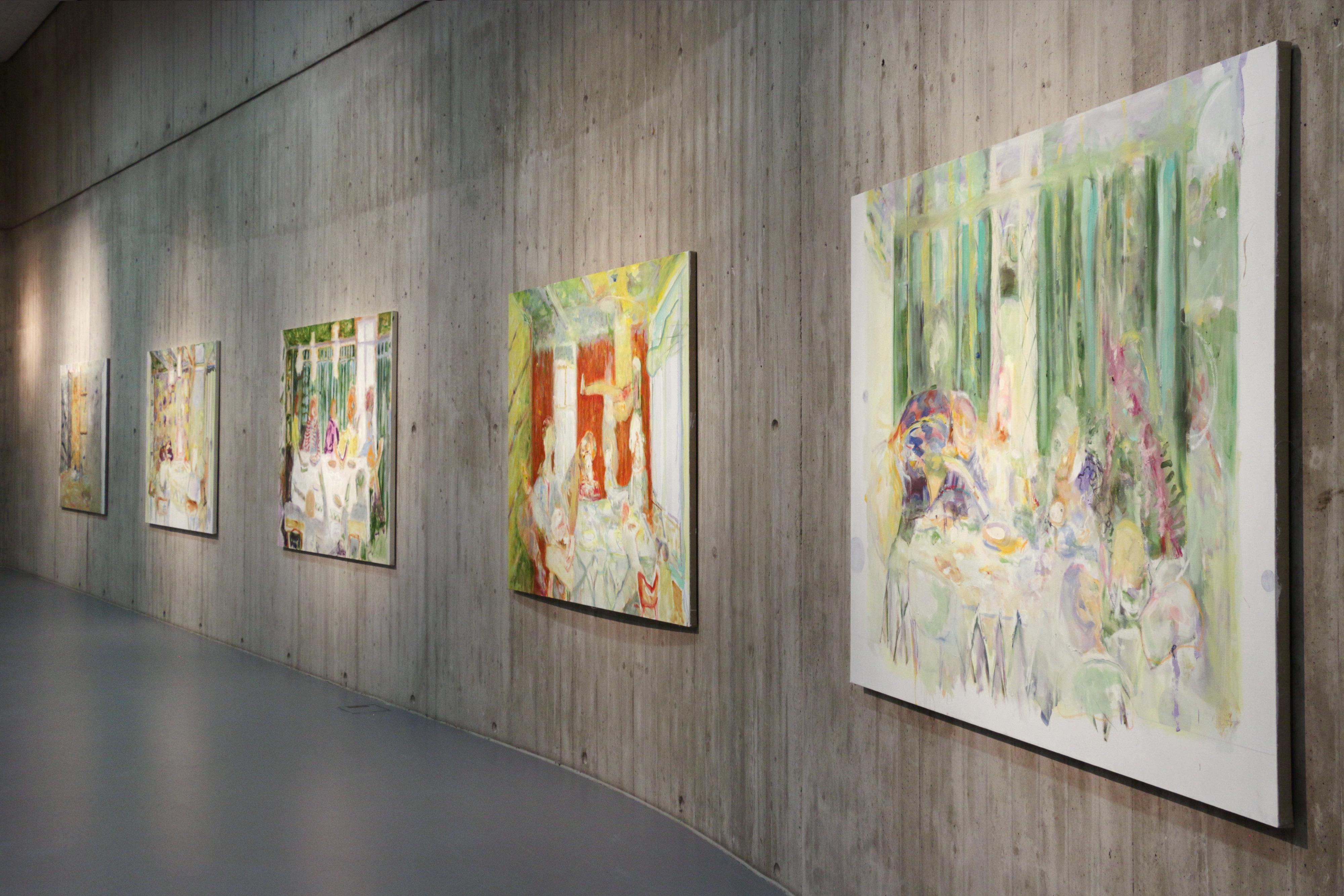 Galerie Barbara Thumm \ Valérie Favre – Le désir d´éternité, un arrangement, 2018 – Neue Galerie Gladbeck, Germany