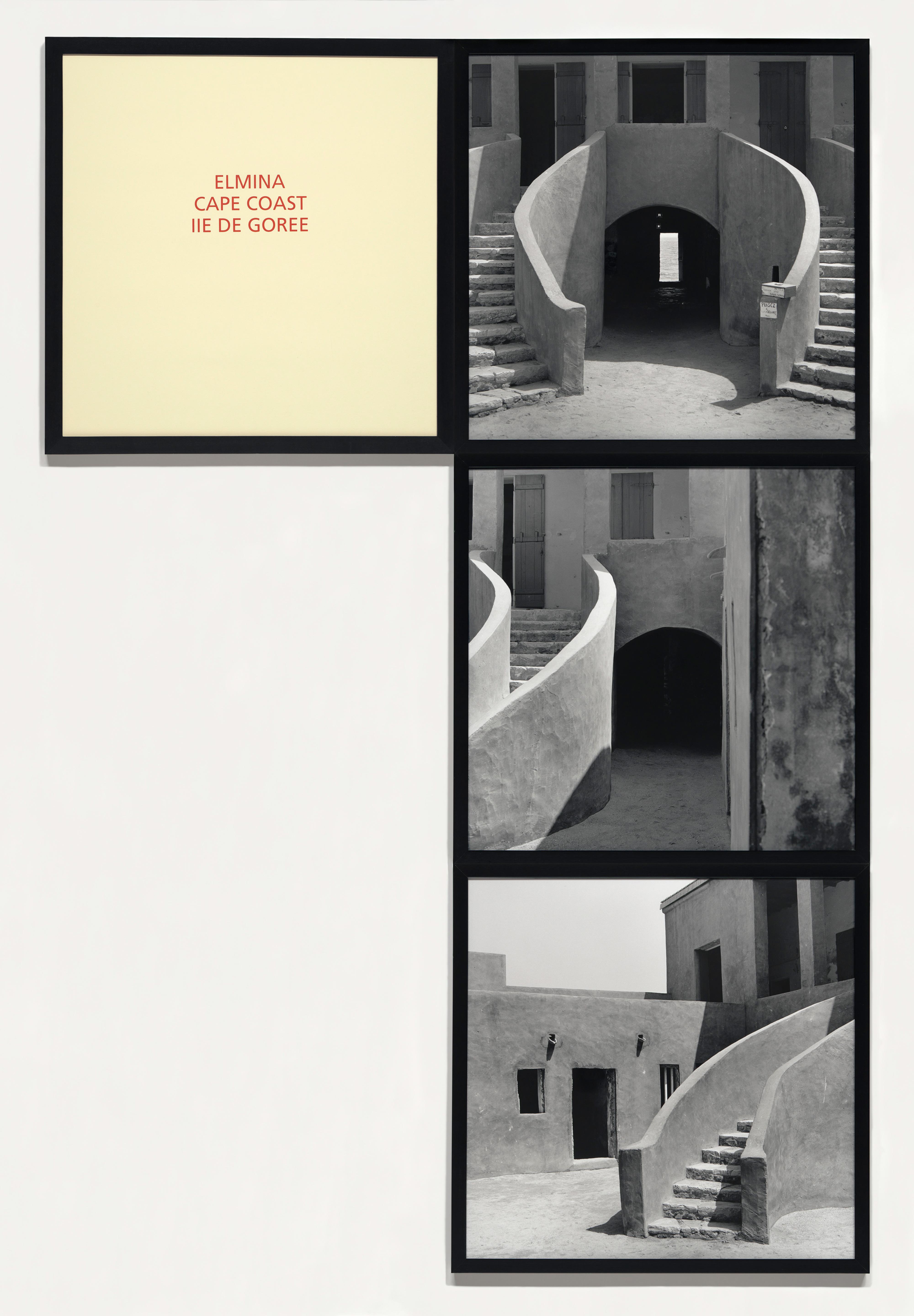 Galerie Barbara Thumm \ Carrie Mae Weems: Elmina Cpe Coast, Ile de Gorée (CMW-93-008) \ Elmina Cpe Coast, Ile de Gorée (1993)
