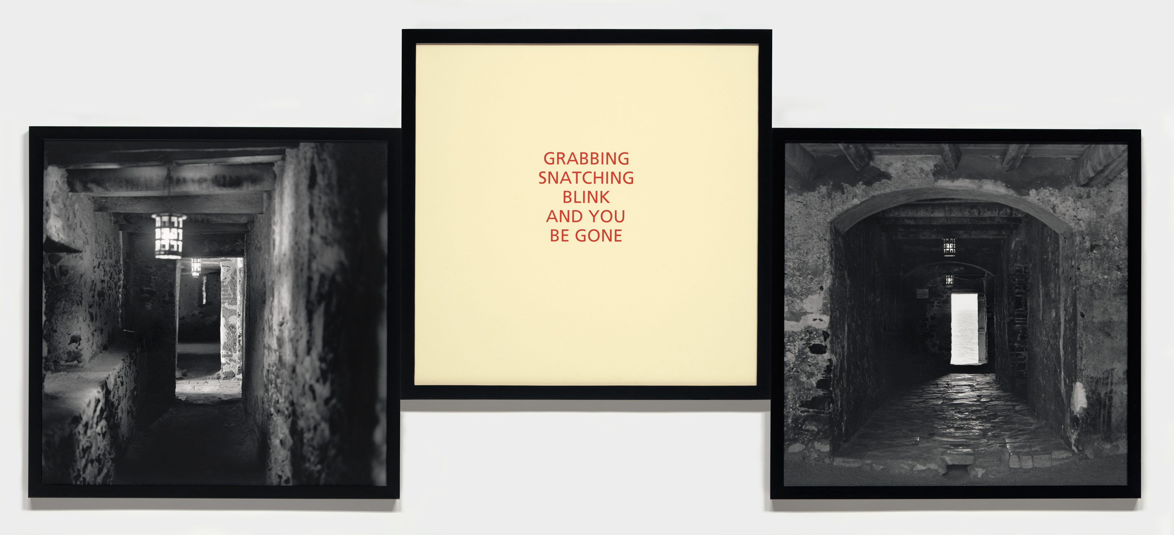Galerie Barbara Thumm \ Carrie Mae Weems: Grabbing Snatching Blink and You Be Gone (CMW-93-010) \ Grabbing Snatching Blink and You Be Gone (1993)