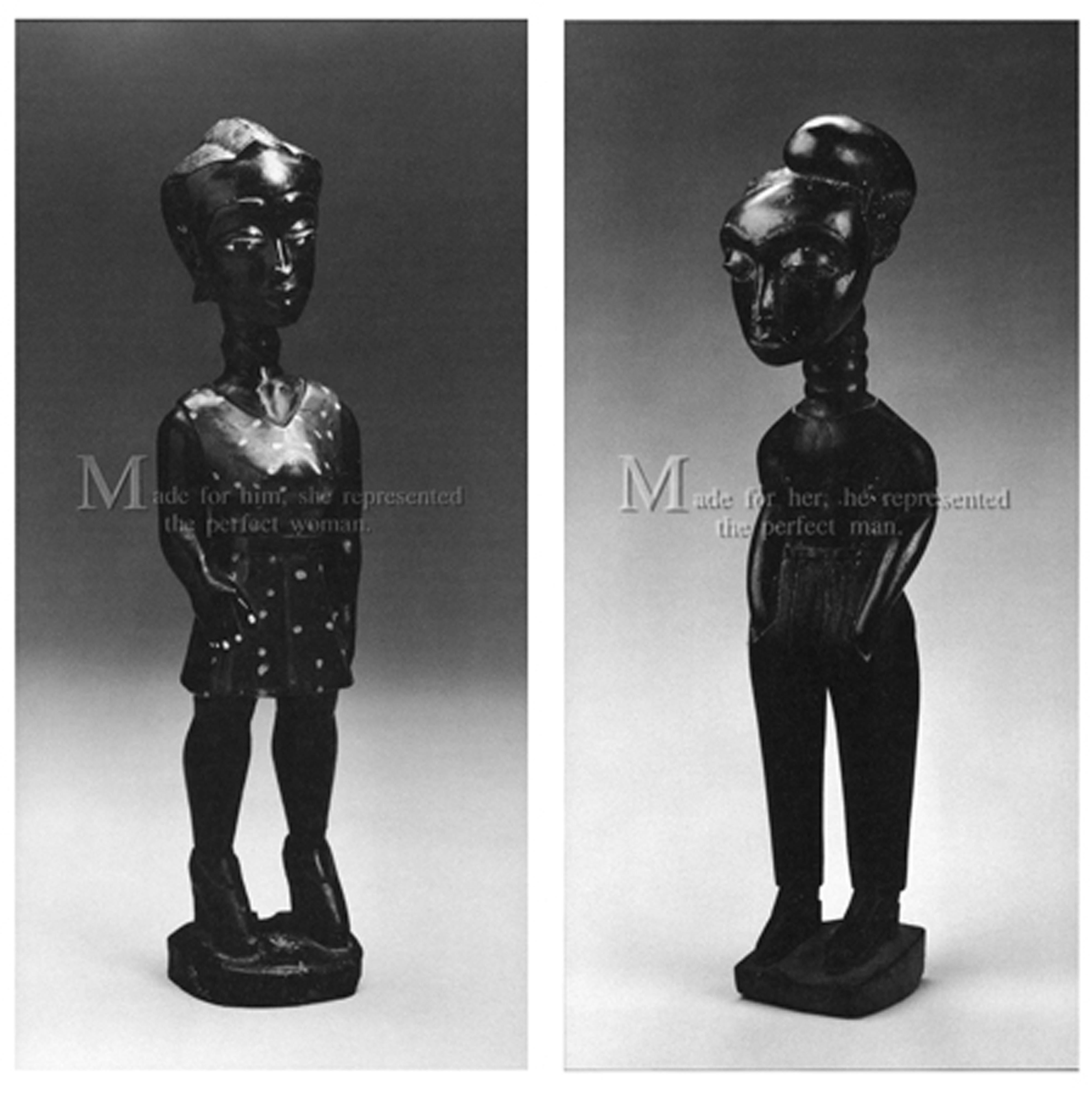 Galerie Barbara Thumm \ Carrie Mae Weems: Made For Him, Made For Her (CMW-93-006) \ Made For Him, Made For Her (1993)