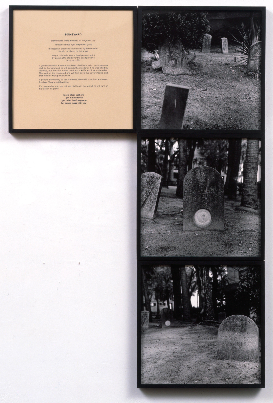 Galerie Barbara Thumm \ Carrie Mae Weems: Untitled (Boneyard) (CMW-92-005) \ Untitled (Boneyard) (1992)