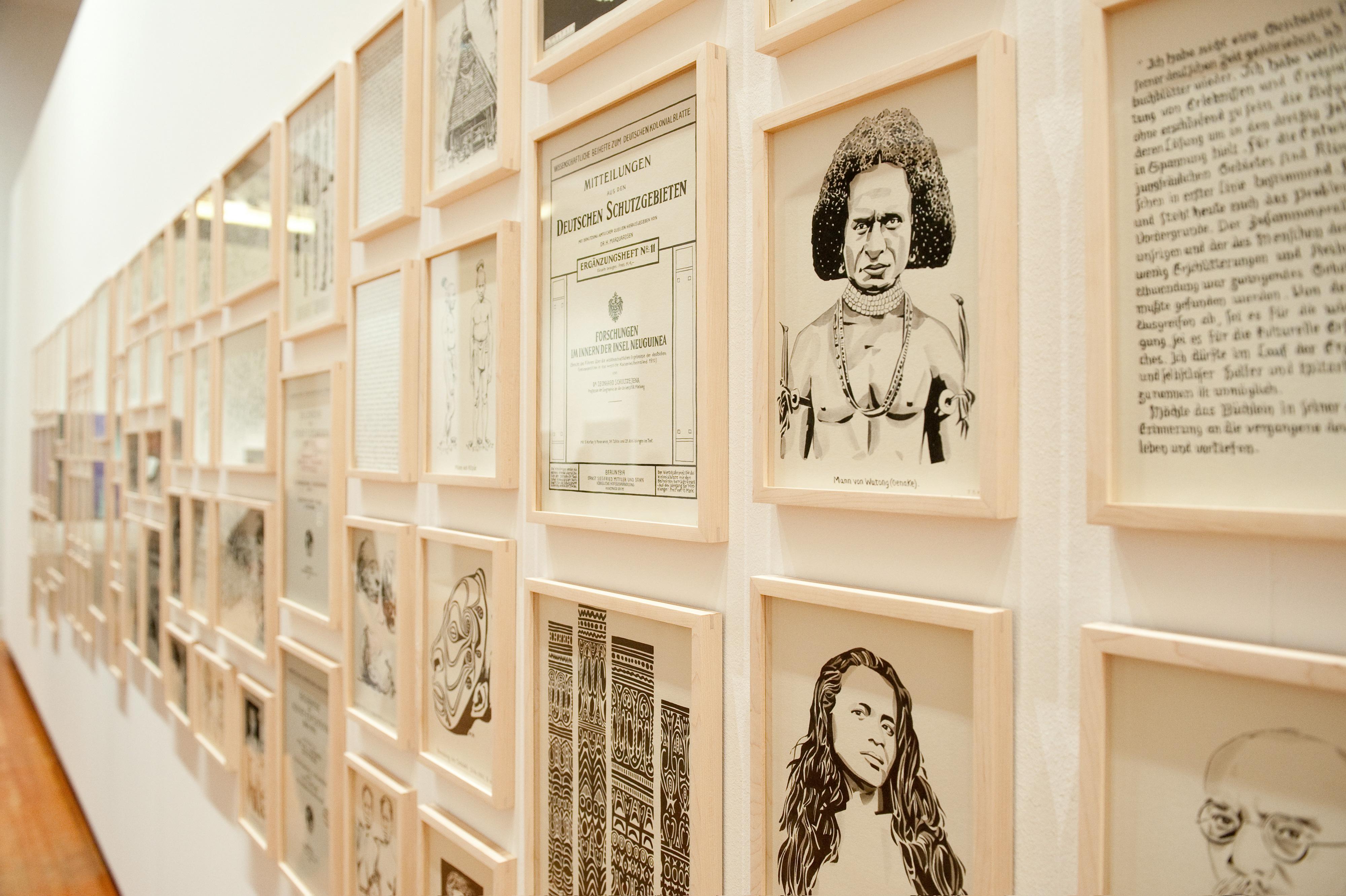 Galerie Barbara Thumm \ Fernando Bryce – Die Nacht der Villa Massimo
