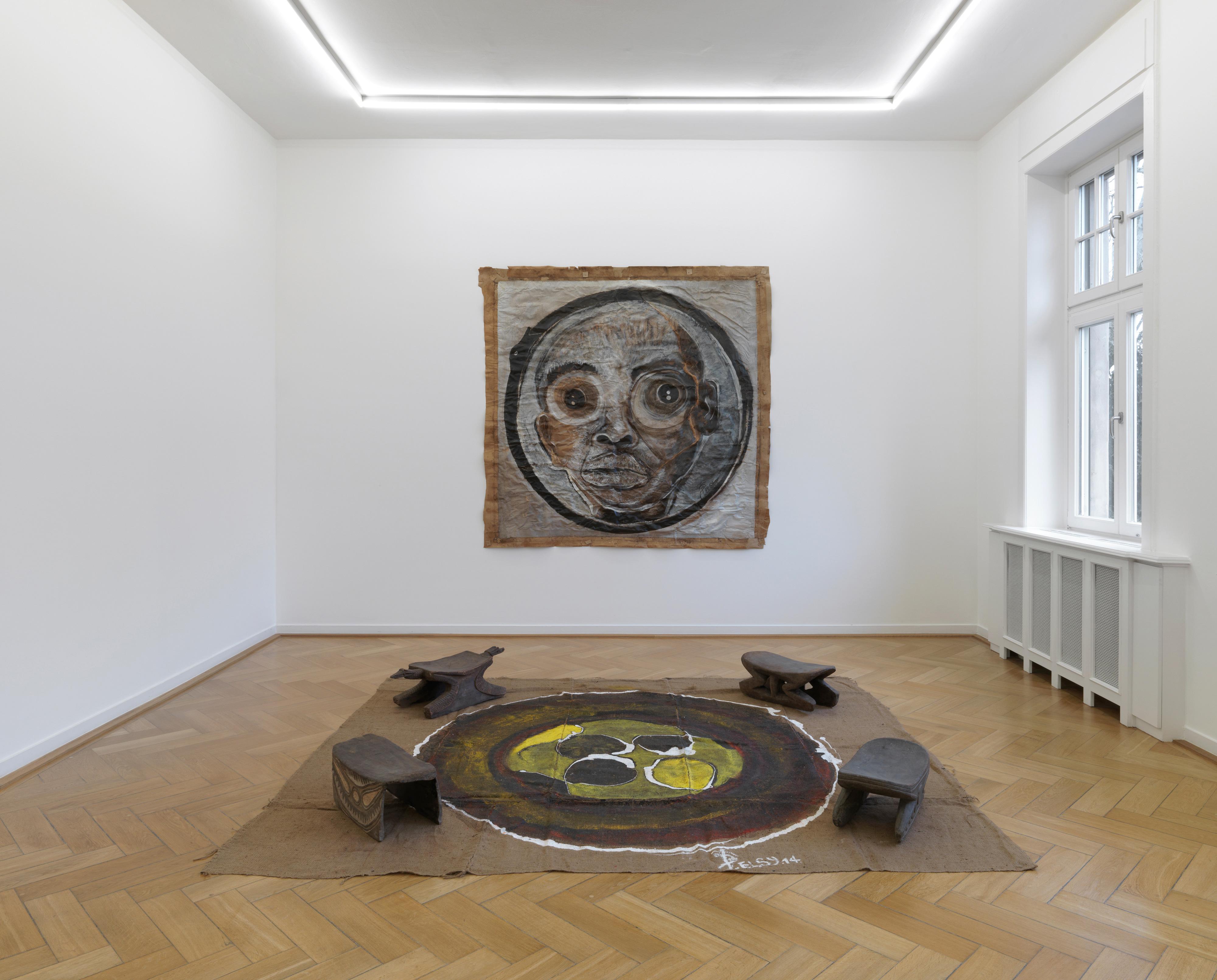 Galerie Barbara Thumm \ El Hadji Sy – Weltkulturen Museum Frankfurt