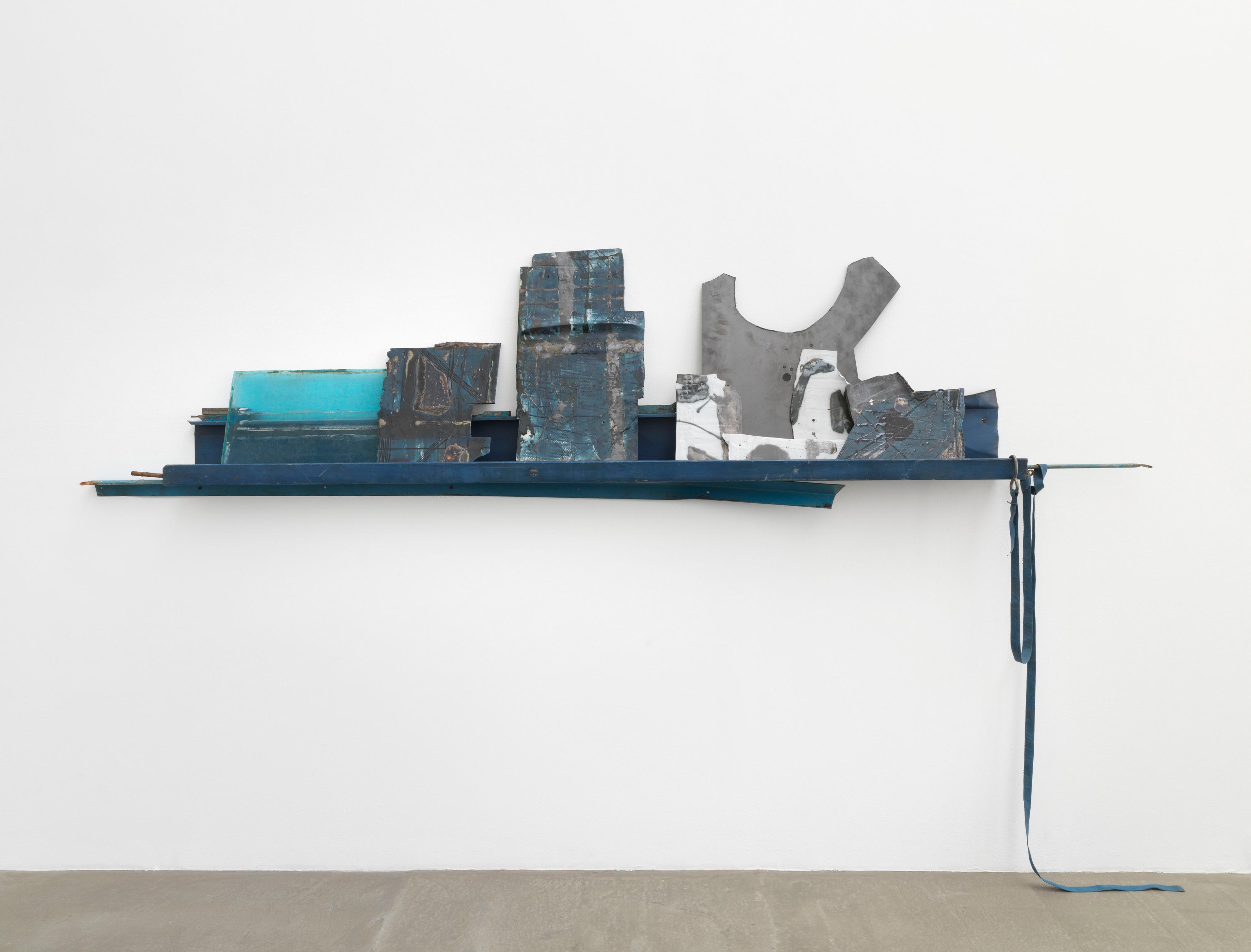 Galerie Barbara Thumm \ Sarah Entwistle: He lived alone with his books. (SEn-21-016) \ He lived alone with his books. (2021)