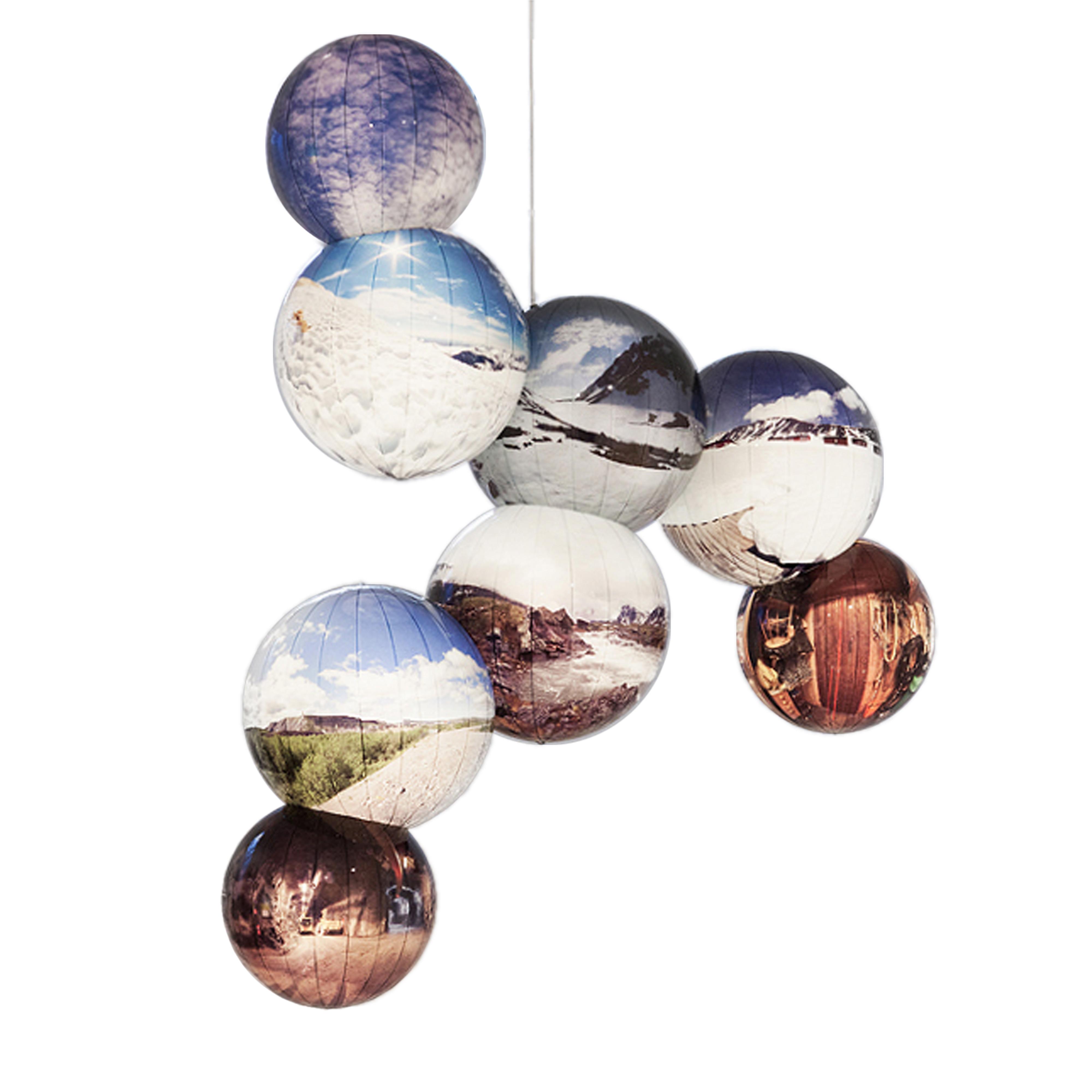 Galerie Barbara Thumm \ ZWANZIG anniversary exhibition 20 years Galerie Barbara Thumm \ Rescue Blanket for Kebnekaise (Inverted Space Molecule) (2015)