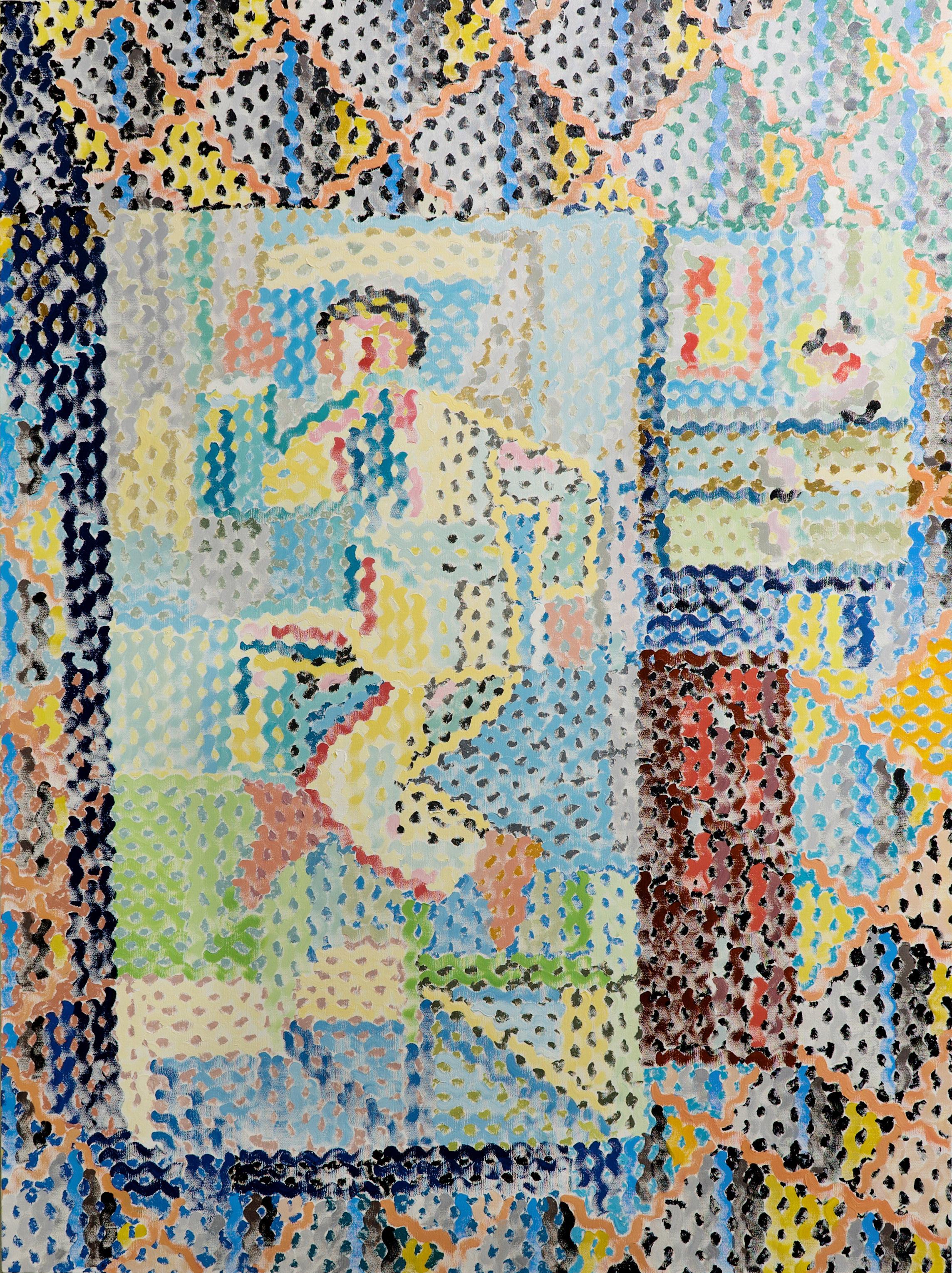 Galerie Barbara Thumm \ ZWANZIG anniversary exhibition 20 years Galerie Barbara Thumm \ Hombre casi dormido (2017)