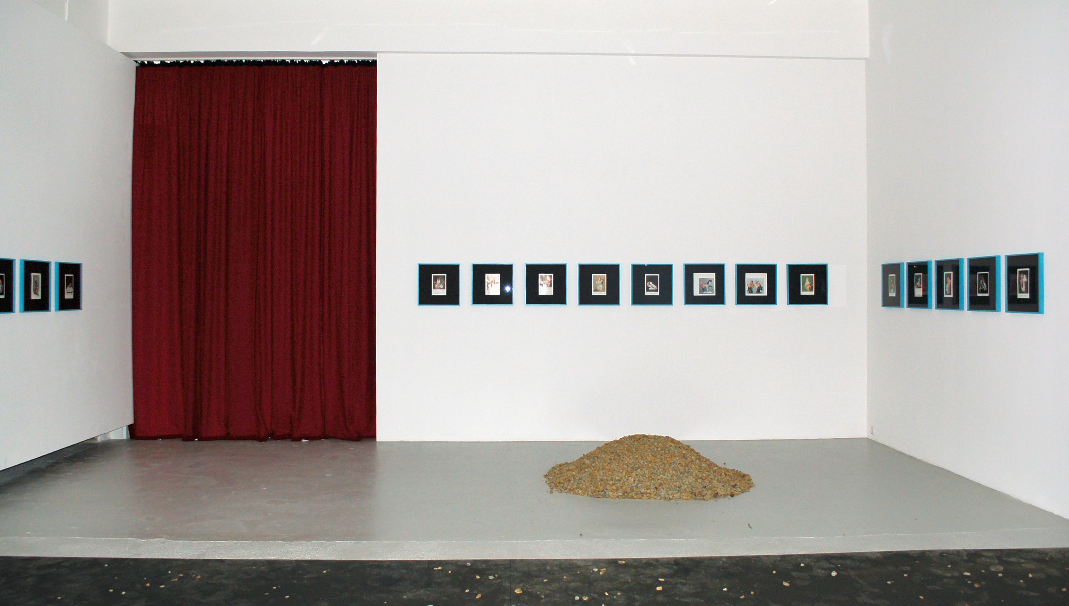 Galerie Barbara Thumm \ Diango Hernández – out-of-place artifacts (OOPArt) – Galerie Barbara Thumm, 2008