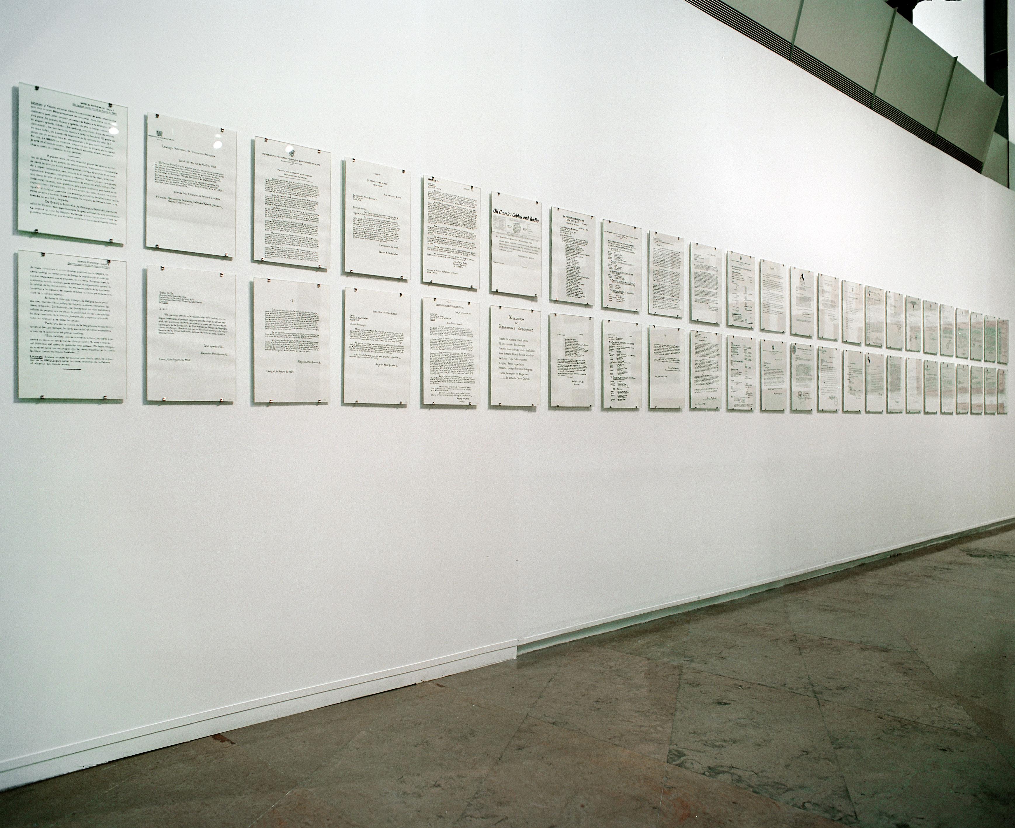 Galerie Barbara Thumm \ Fernando Bryce – Solo Exhibition