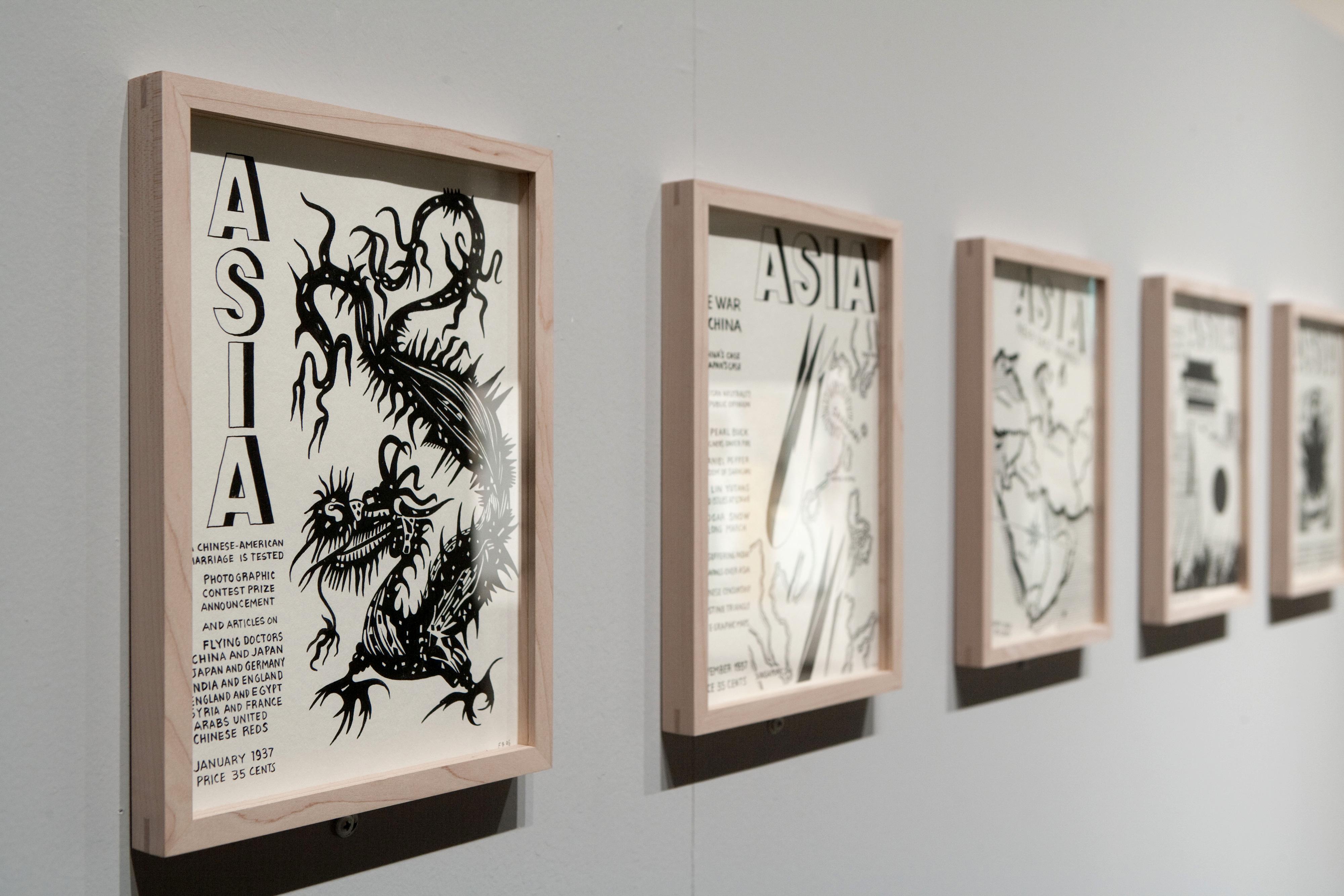 Galerie Barbara Thumm \ Fernando Bryce – Taipei Biennal 2012