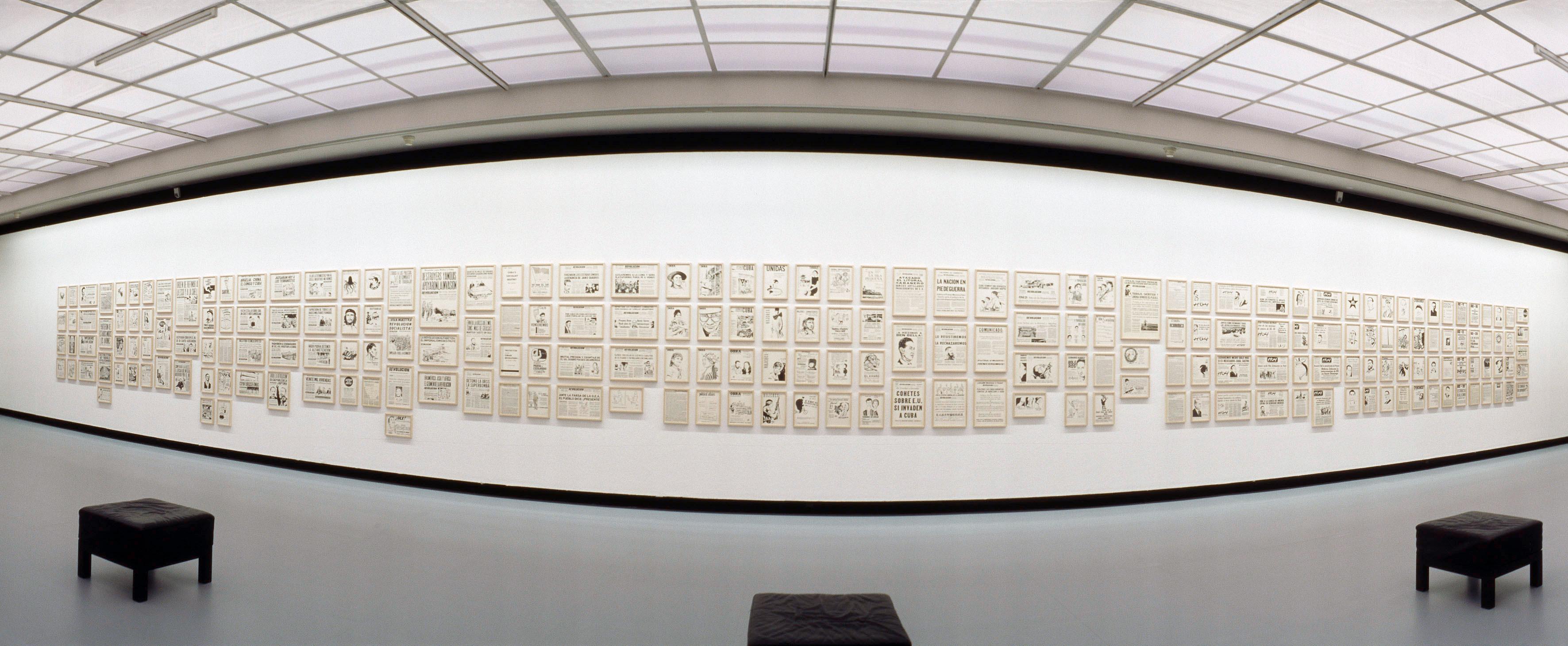 Galerie Barbara Thumm \ Fernando Bryce – Drawings