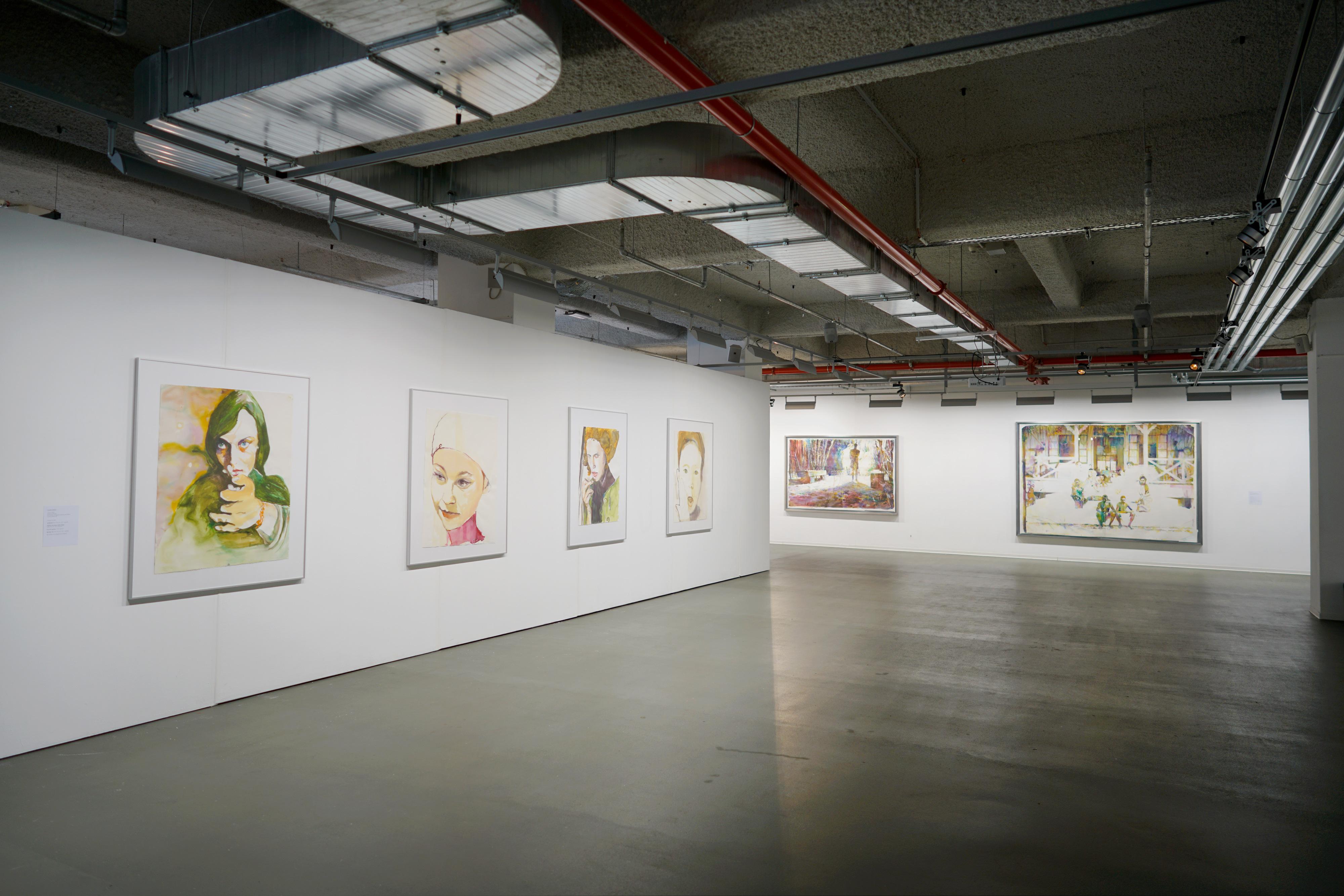 Galerie Barbara Thumm \ Martin Dammann – aquarell – Eine künstlerische Technik großer Traditionen und des Niedergangs im Kitsch der Dilettanten kehrt zurück