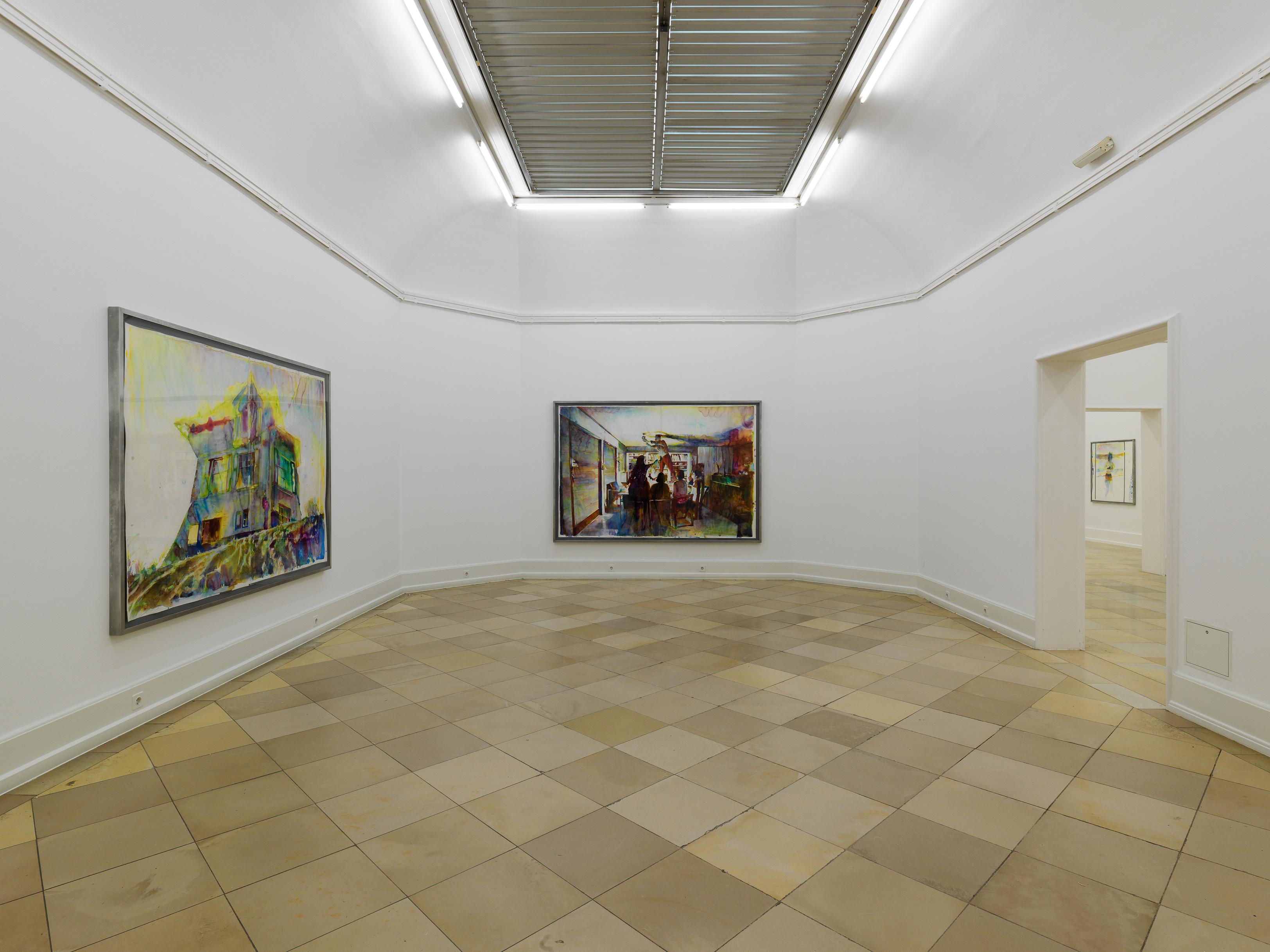 Galerie Barbara Thumm \ Martin Dammann – Zum Resultat beruhigter Tumult
