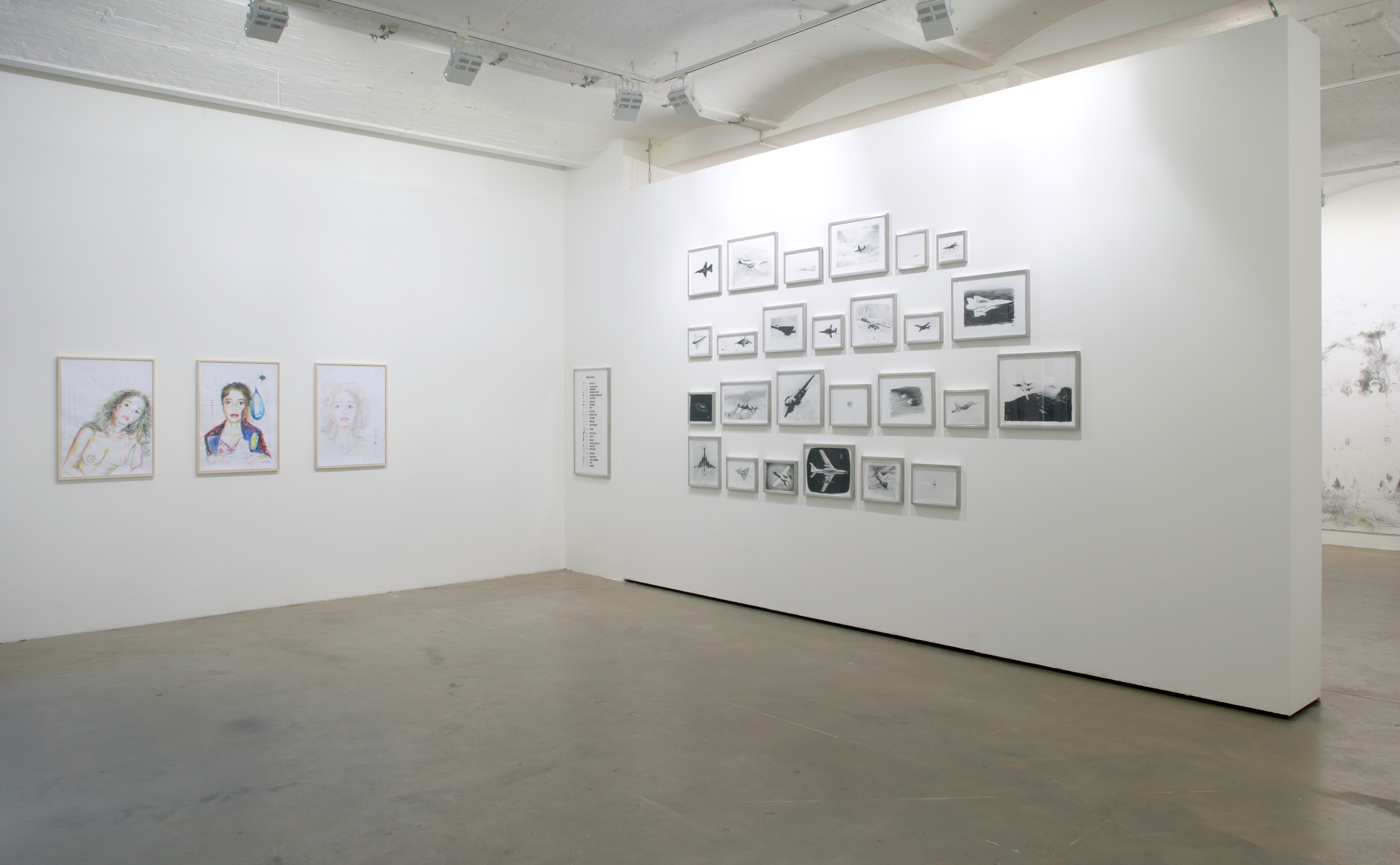 Galerie Barbara Thumm \ Fiona Banner aka The Vanity Press – I walk the lines