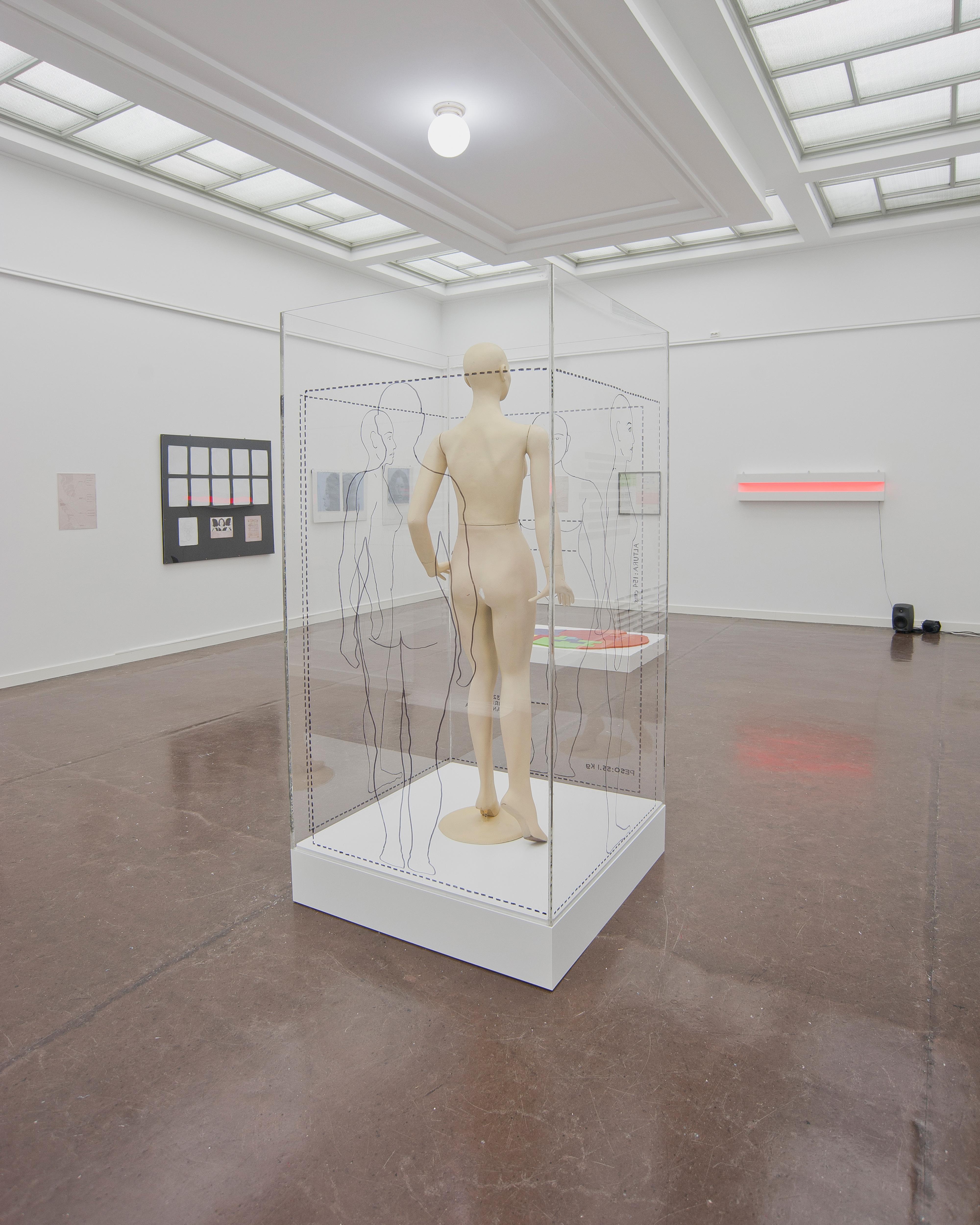 Galerie Barbara Thumm \ Estate Teresa Burga – Lips Painted Red: Strategies to Create and Maintain Female Identities & Teresa Burga
