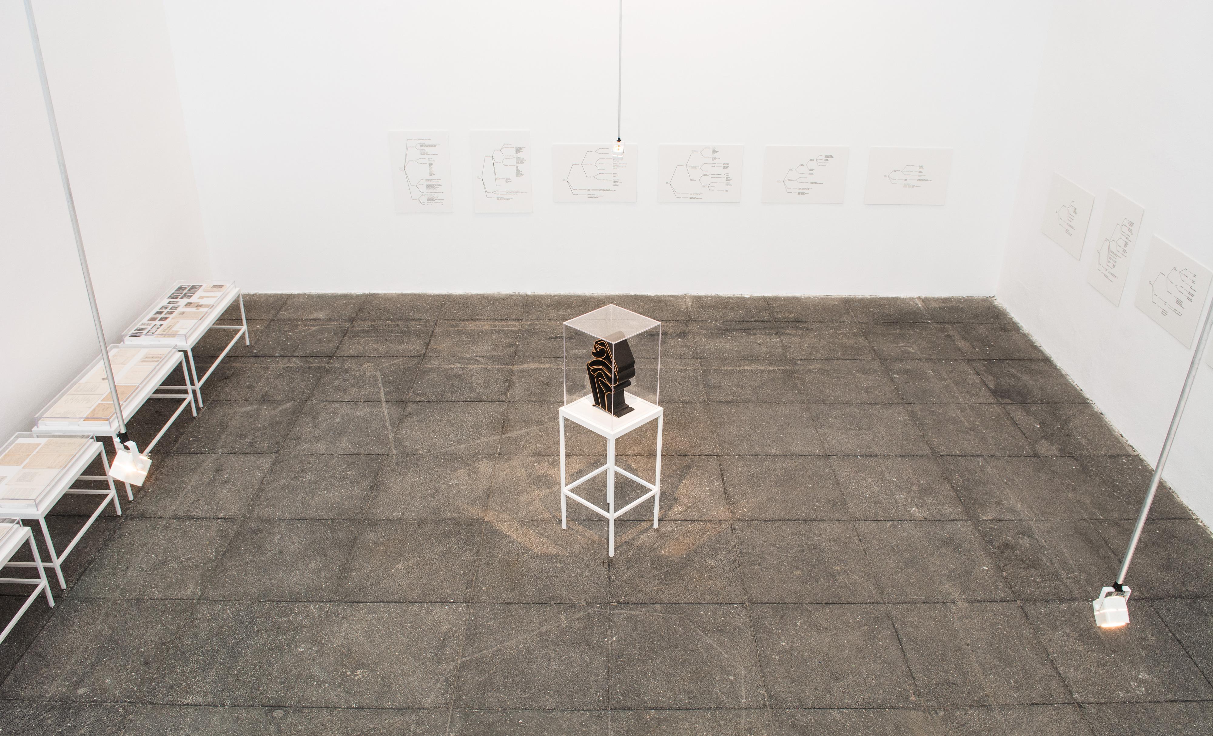 Galerie Barbara Thumm \ Estate Teresa Burga- Profile of Peruvian women – SAPS – 2014