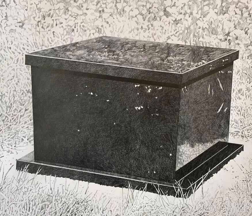 Galerie Barbara Thumm \ Ana Prvački: Bee Memorial series (APr-19-0001) \ Bee Memorial series (2019)