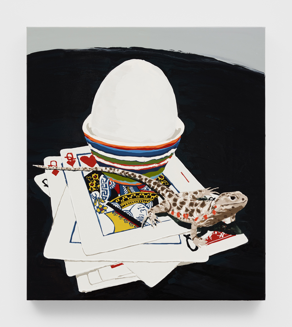 Galerie Barbara Thumm \ 1301PE@GBT \ Leopard, Queens and Egg (2019)