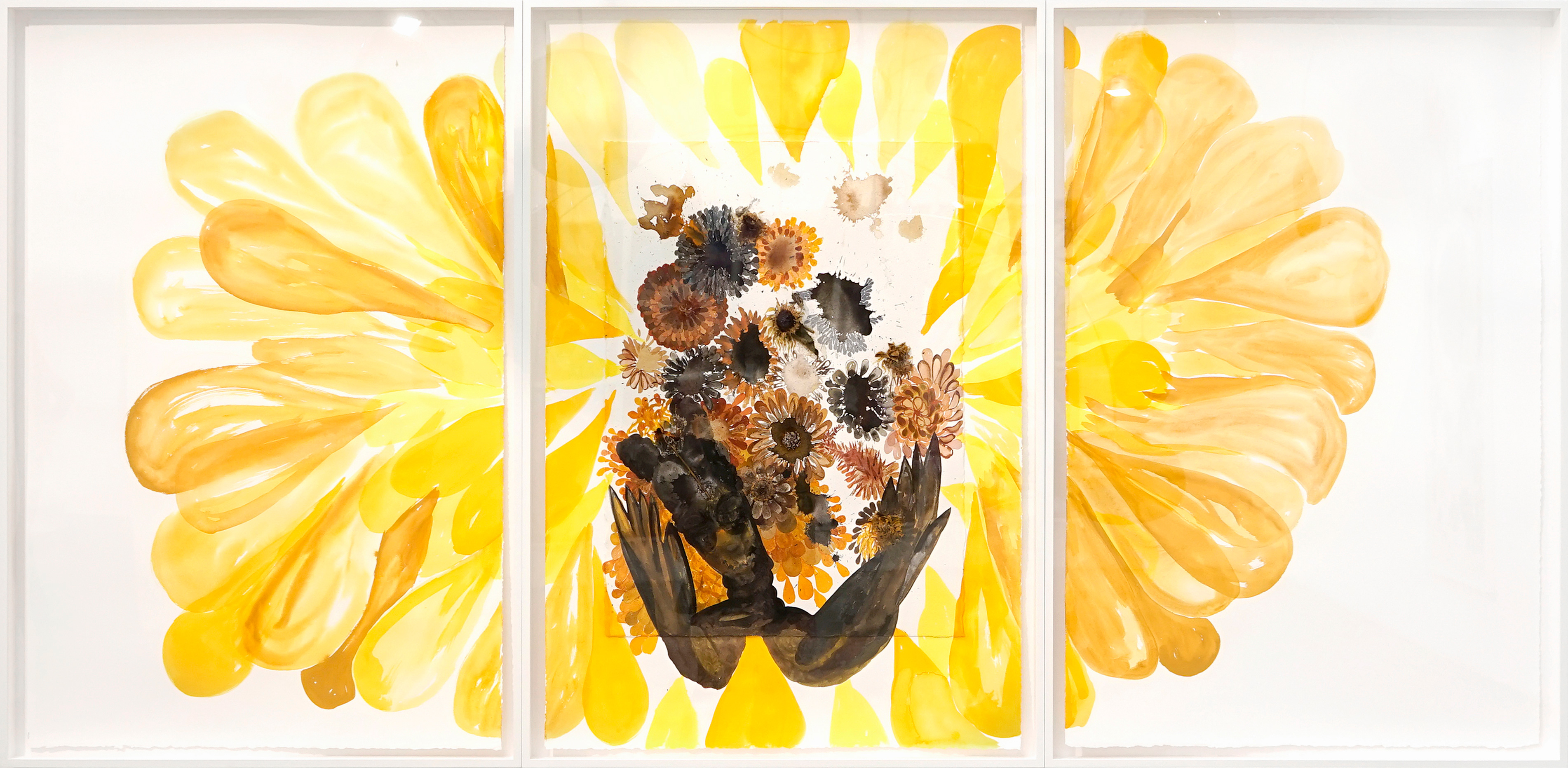 Galerie Barbara Thumm \ María Magdalen Campos-Pons – The Rise of the Butterflies \ Untitled, (2021)